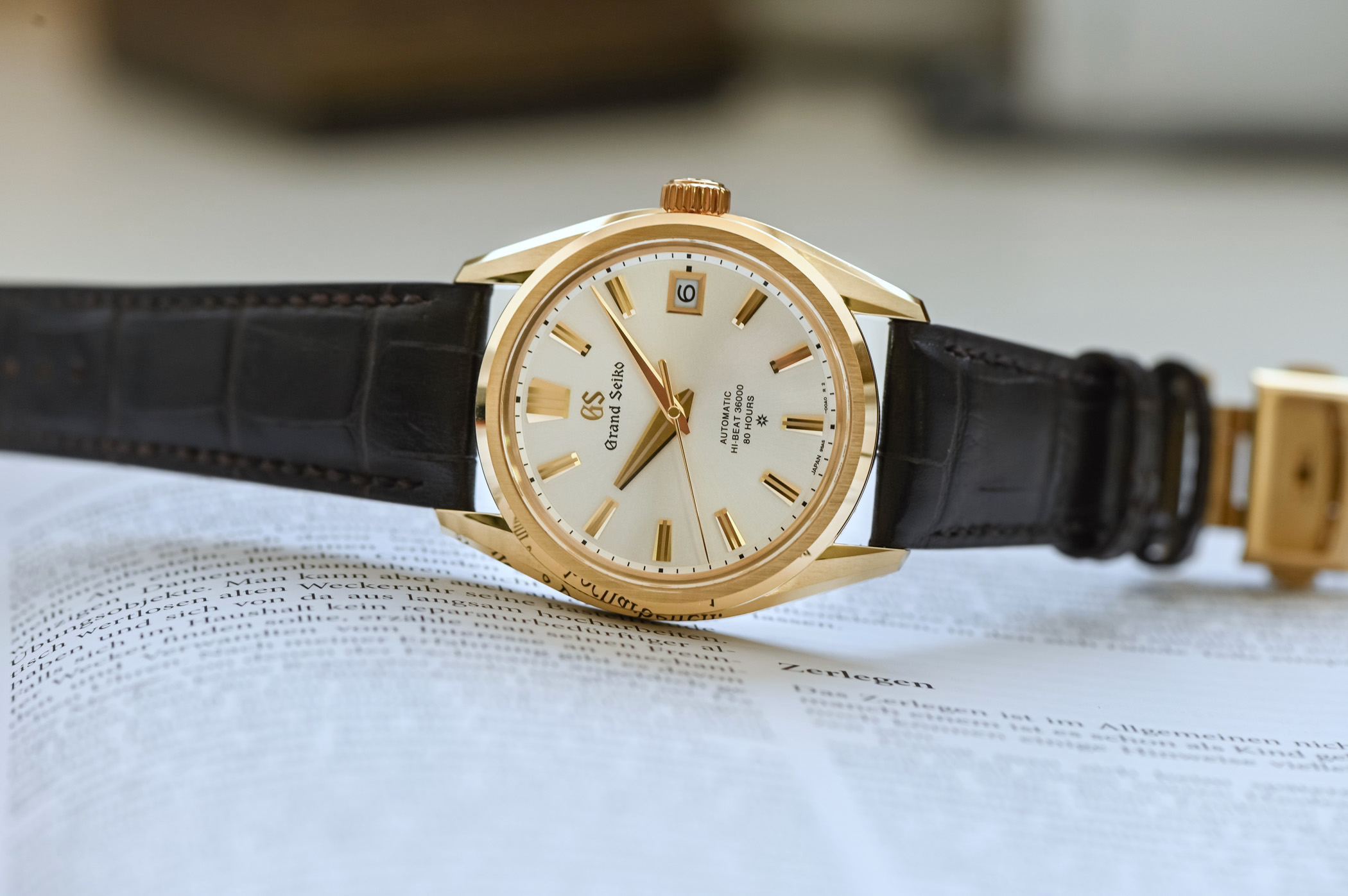 Grand Seiko Elegance 60th Anniversary SLGH002 New Hi-Beat Calibre 9SA5