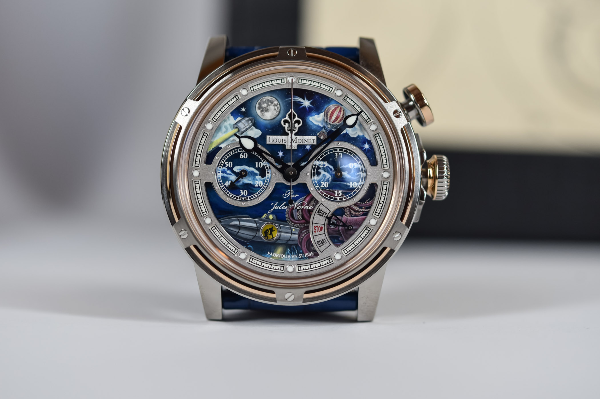 Louis Moinet Spirit of Jules Verne