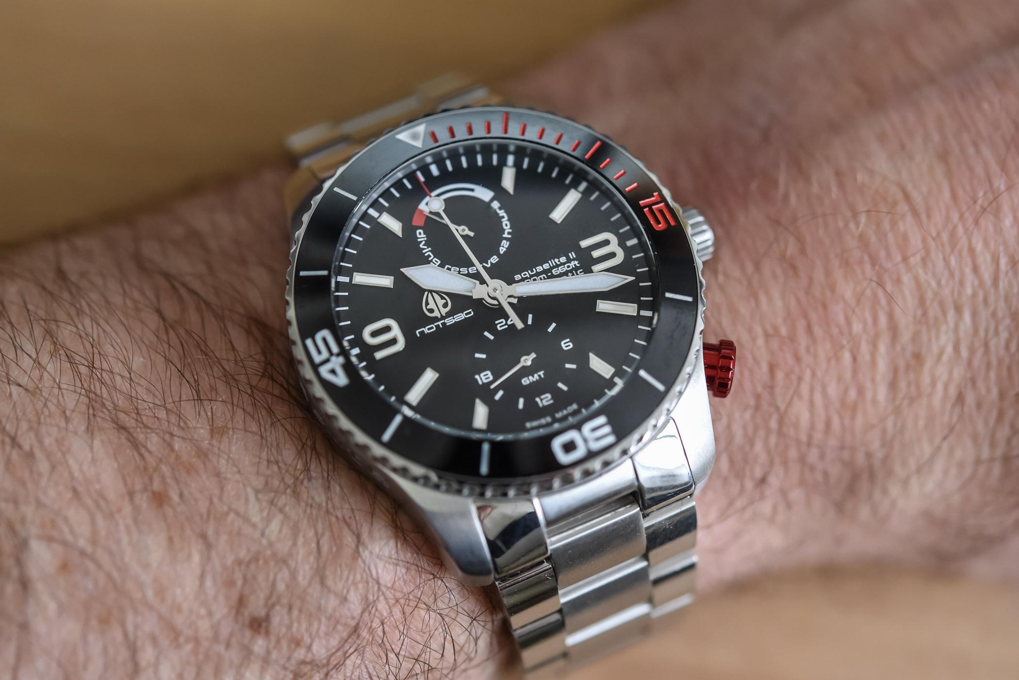 NOTSAG Aquaelite Type II GMT