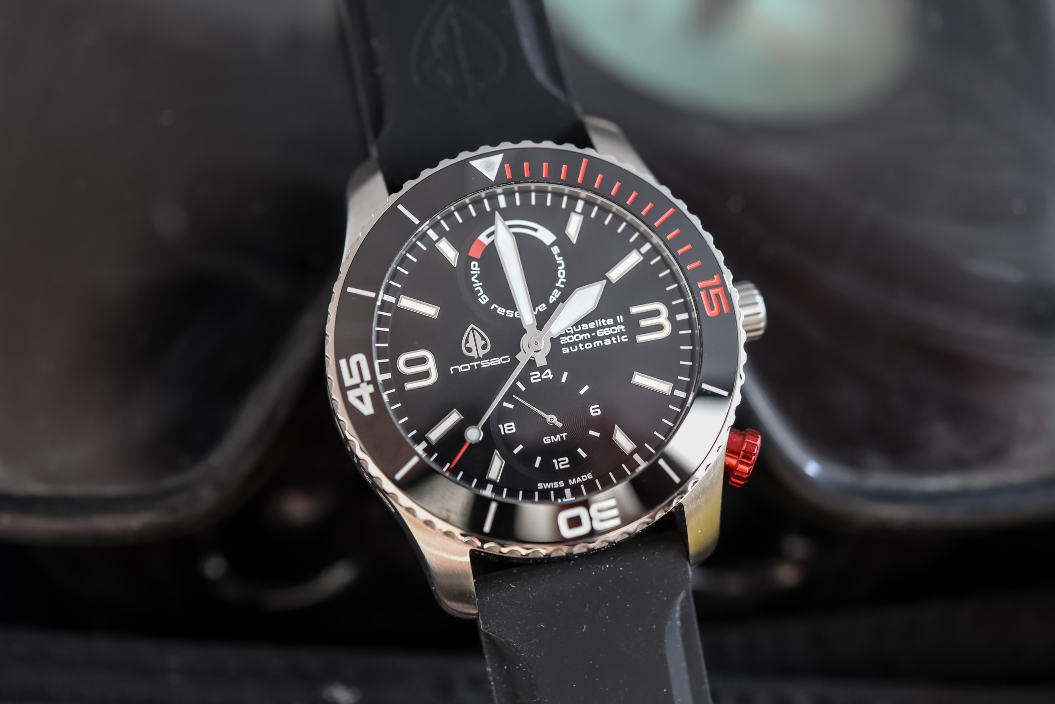 NOTSAG Aquaelite Type II GMT