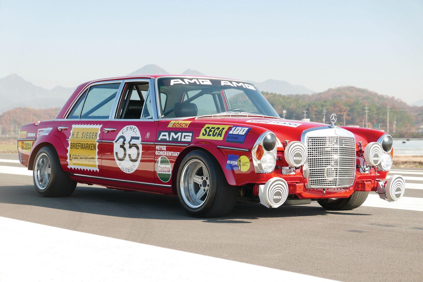 Petrolhead Corner - Mercedes 300 SEL 6.8 AMG red pig - 2