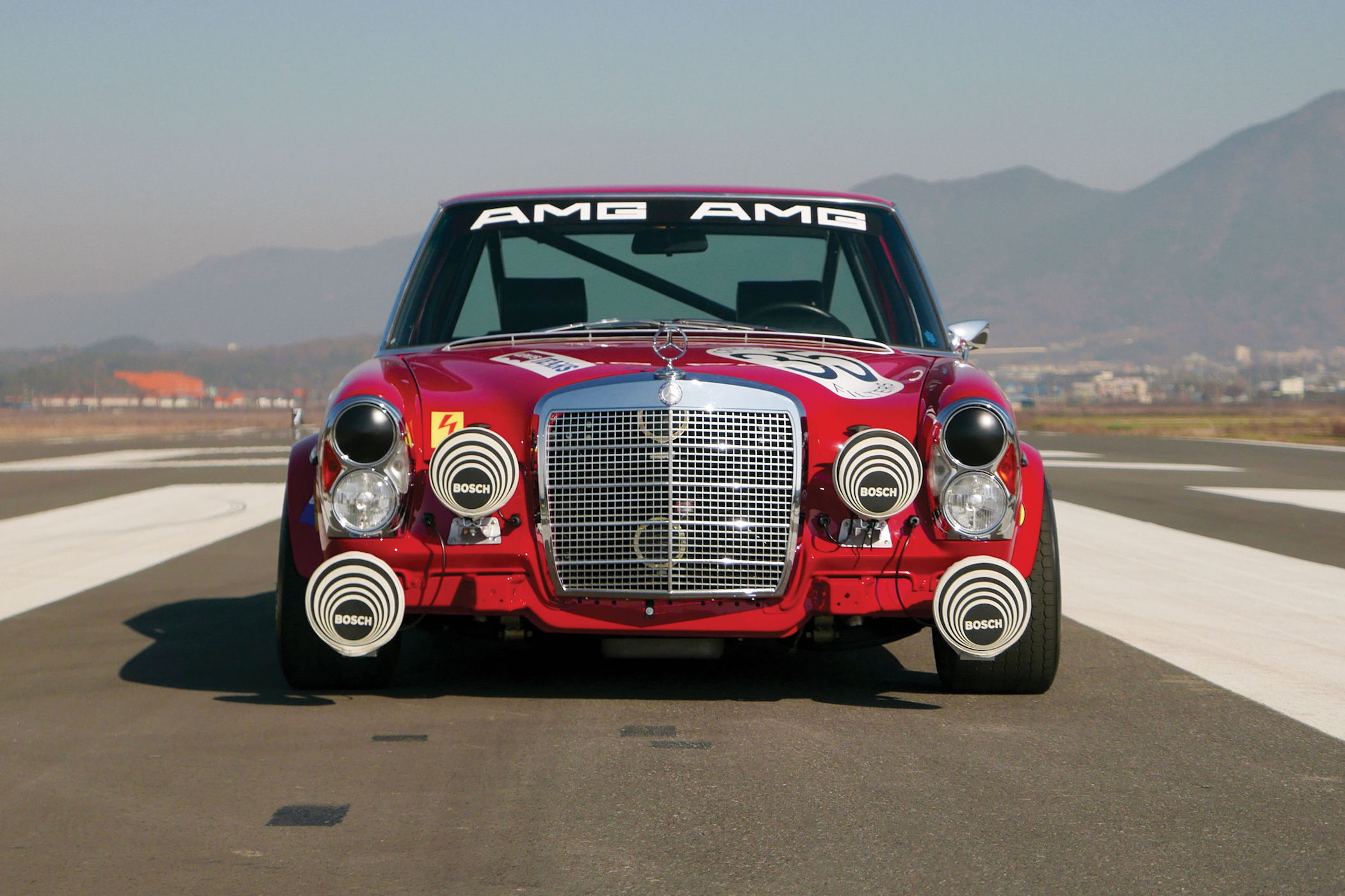 Petrolhead Corner - Mercedes 300 SEL 6.8 AMG red pig - 4