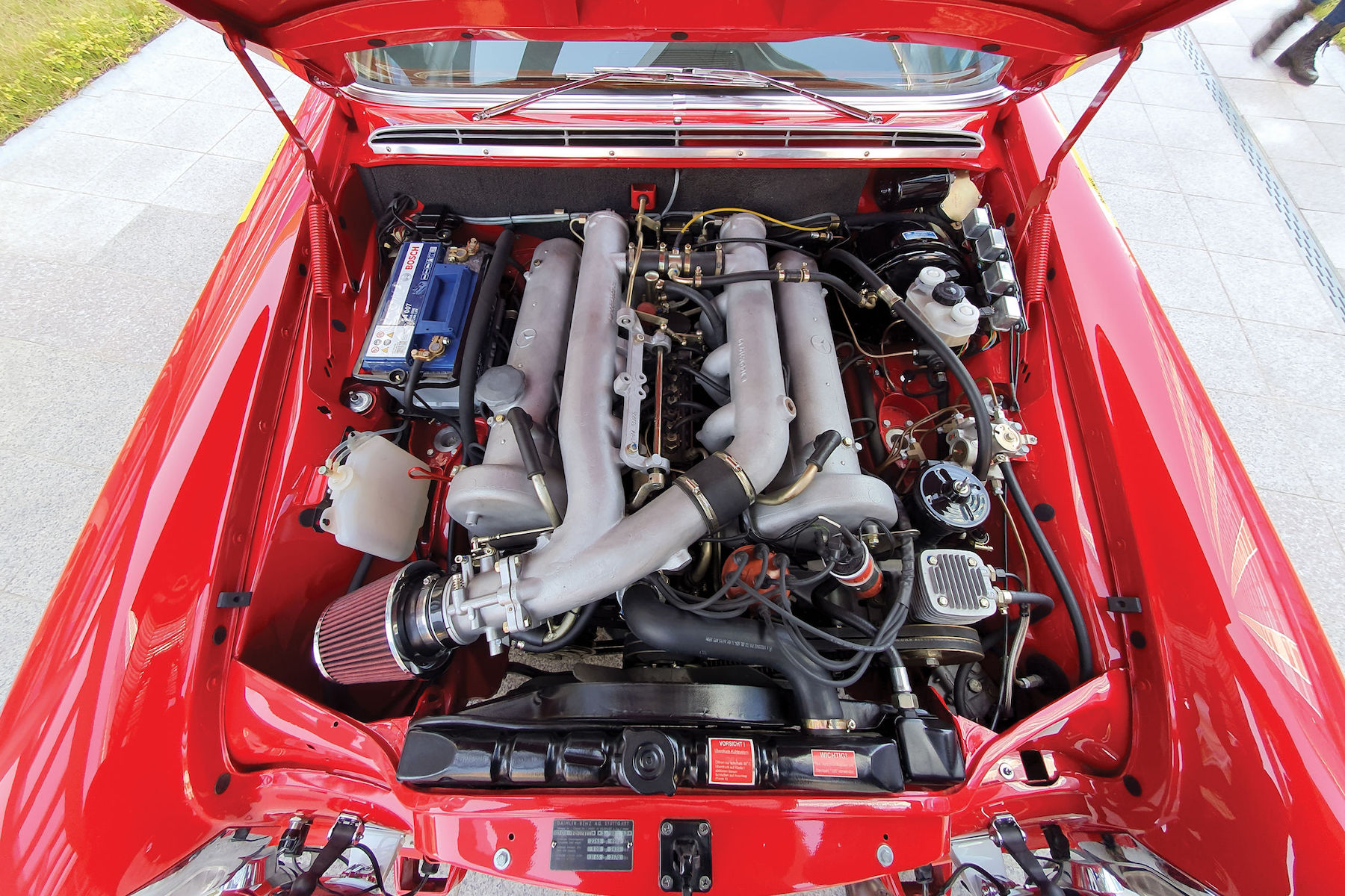 Petrolhead Corner - Mercedes 300 SEL 6.8 AMG red pig - 5