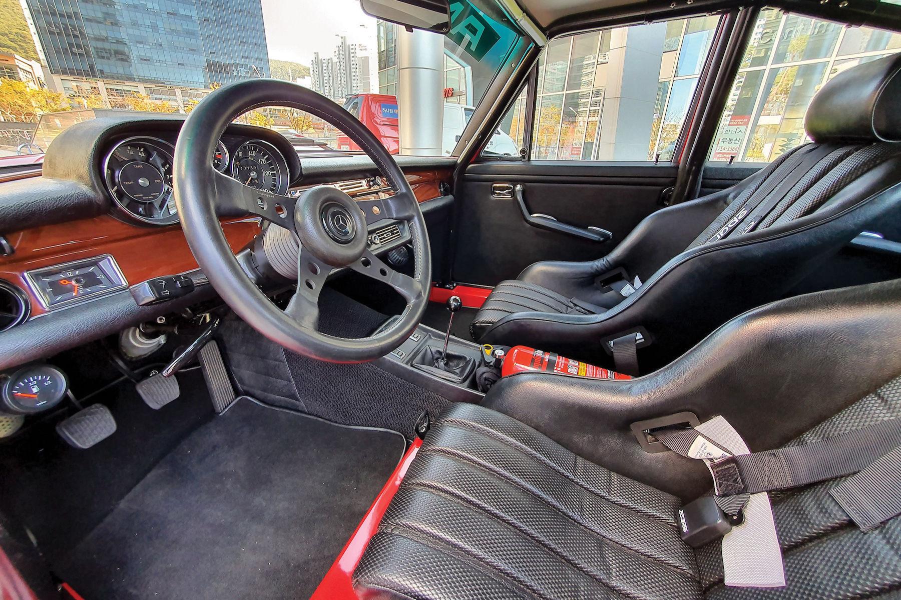 Petrolhead Corner - Mercedes 300 SEL 6.8 AMG red pig - 6