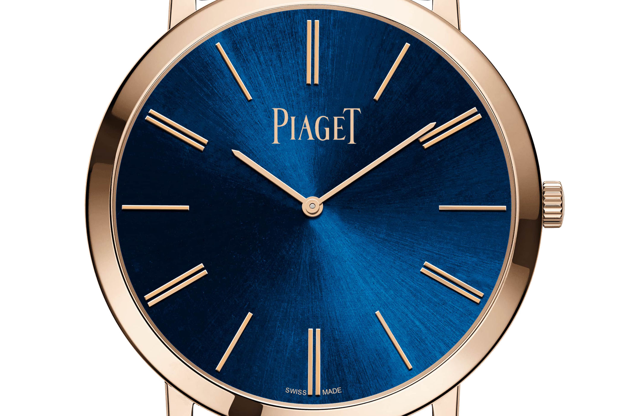 Piaget Altiplano 38mm Hand-Wound Blue Dial Pink Gold - 2020 - G0A45050