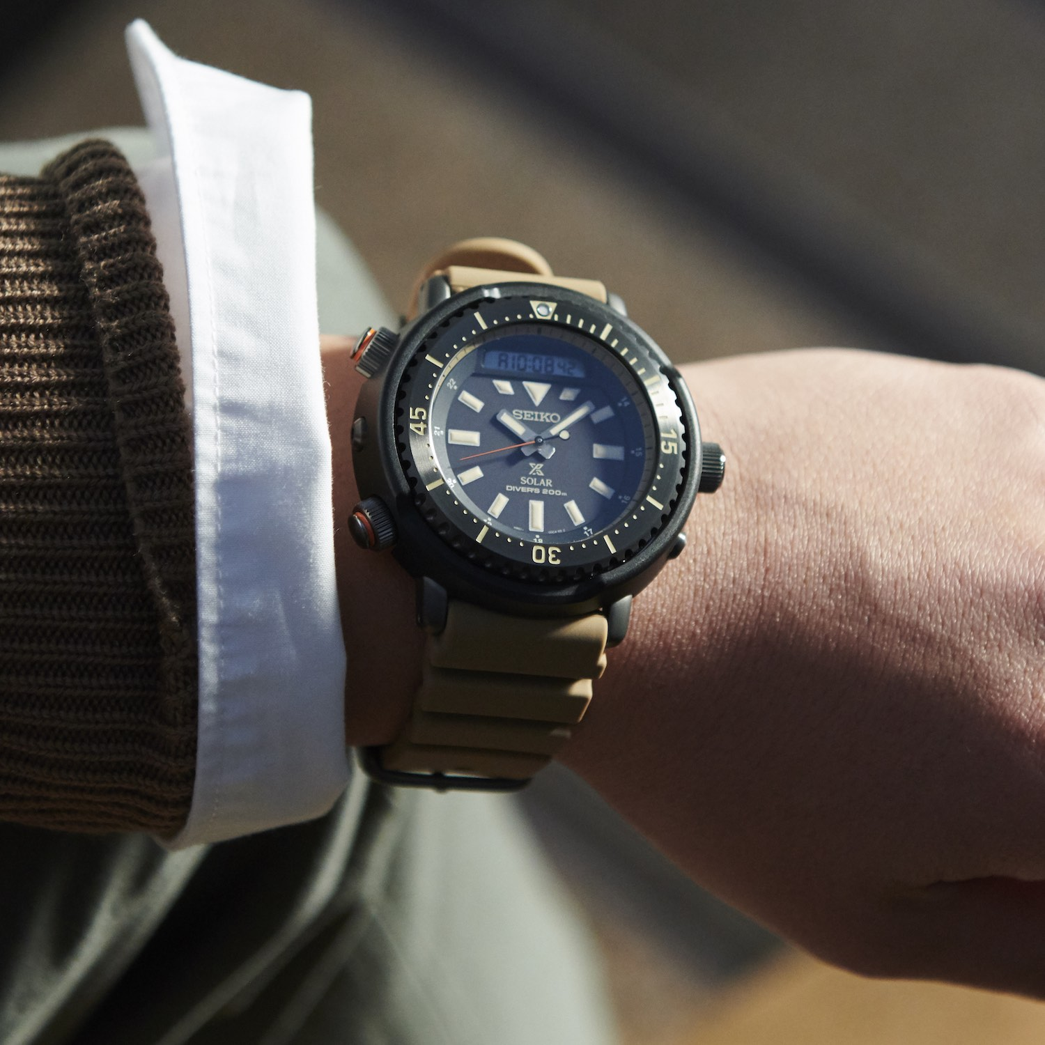 Seiko Prospex Street Series Urban Safari Tuna - 3