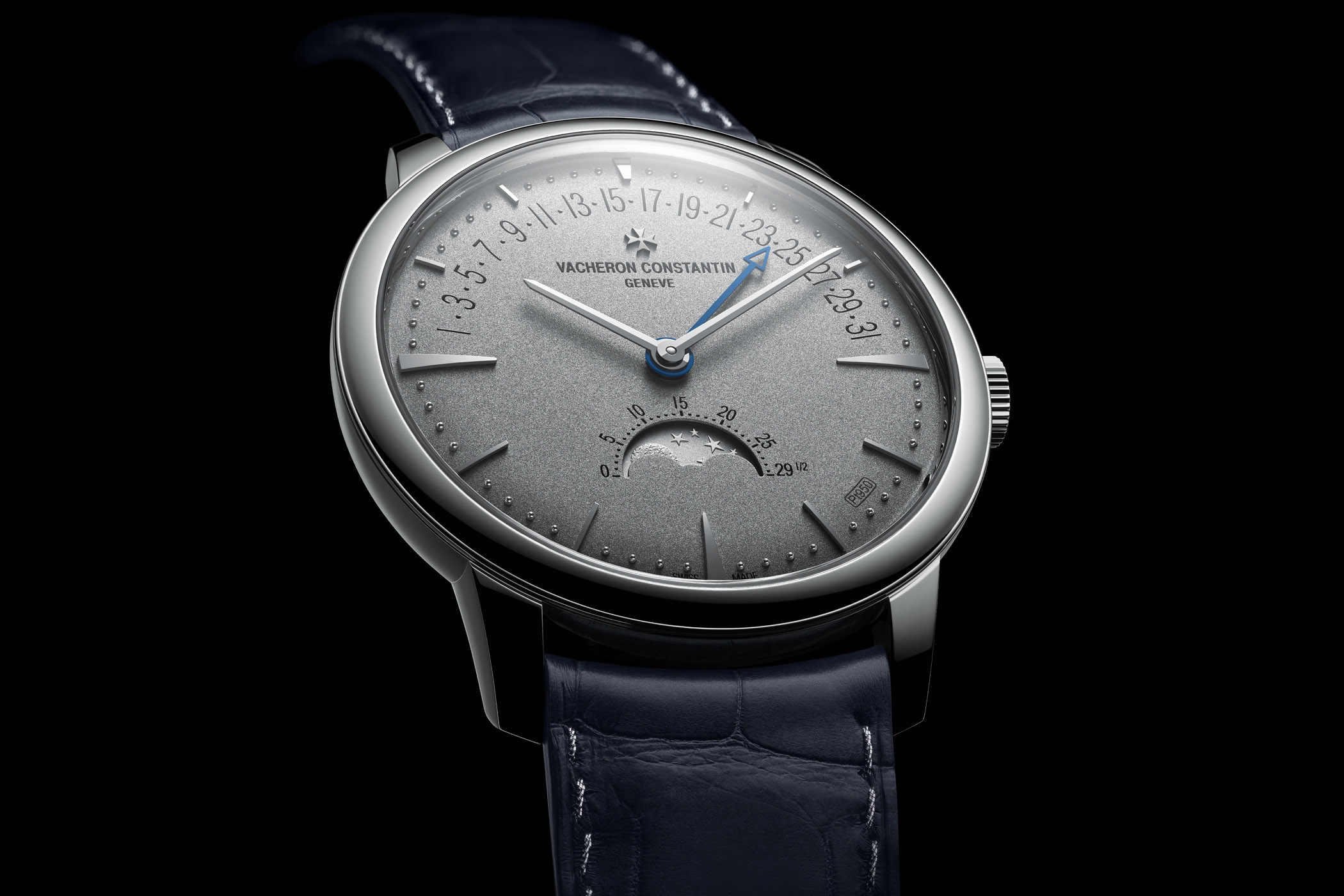 Vacheron Constantin Patrimony moon phase retrograde date Collection Excellence Platine
