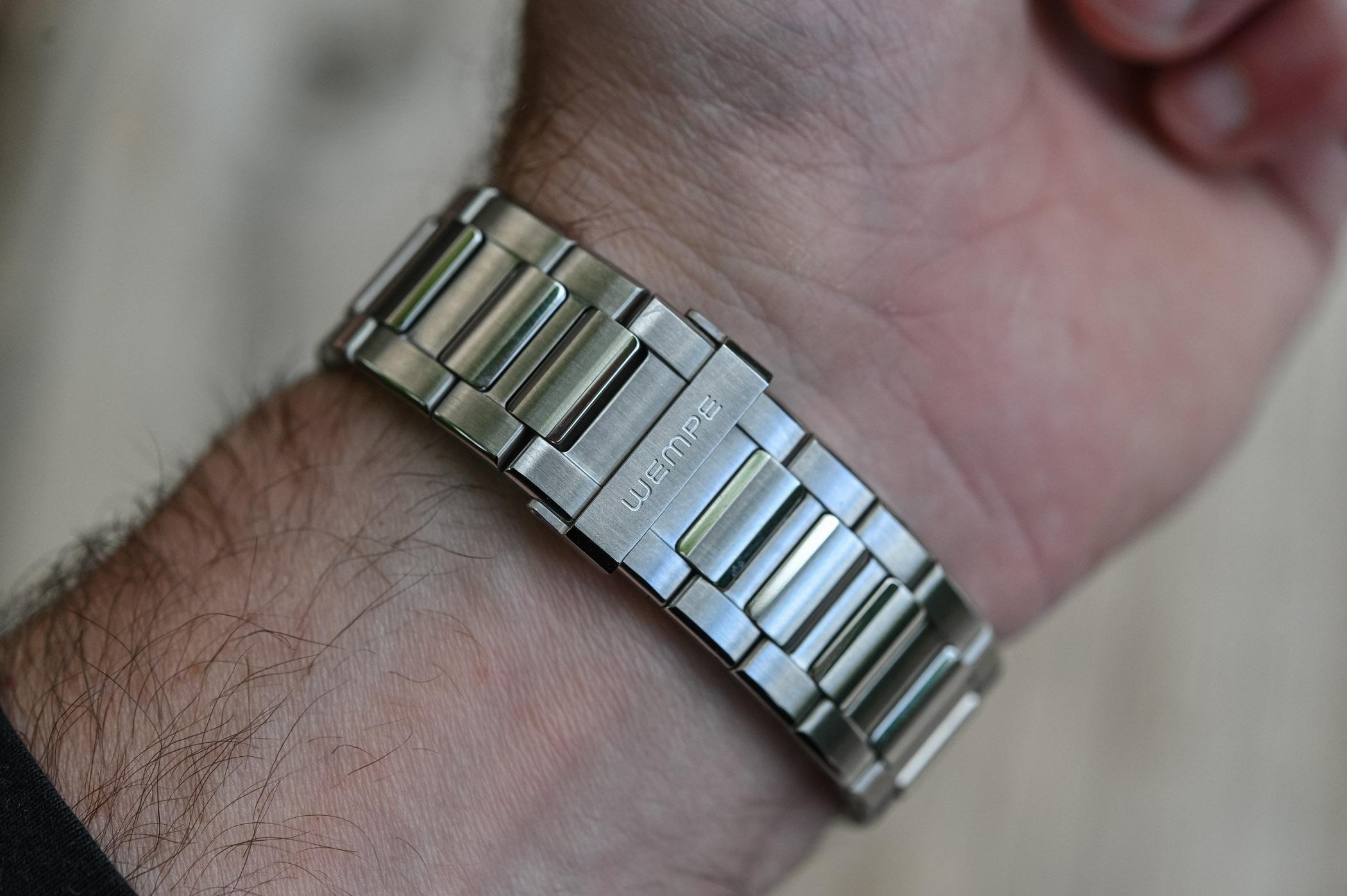 Wempe Iron Walker - Steel Sports Watch Integrated Bracelet