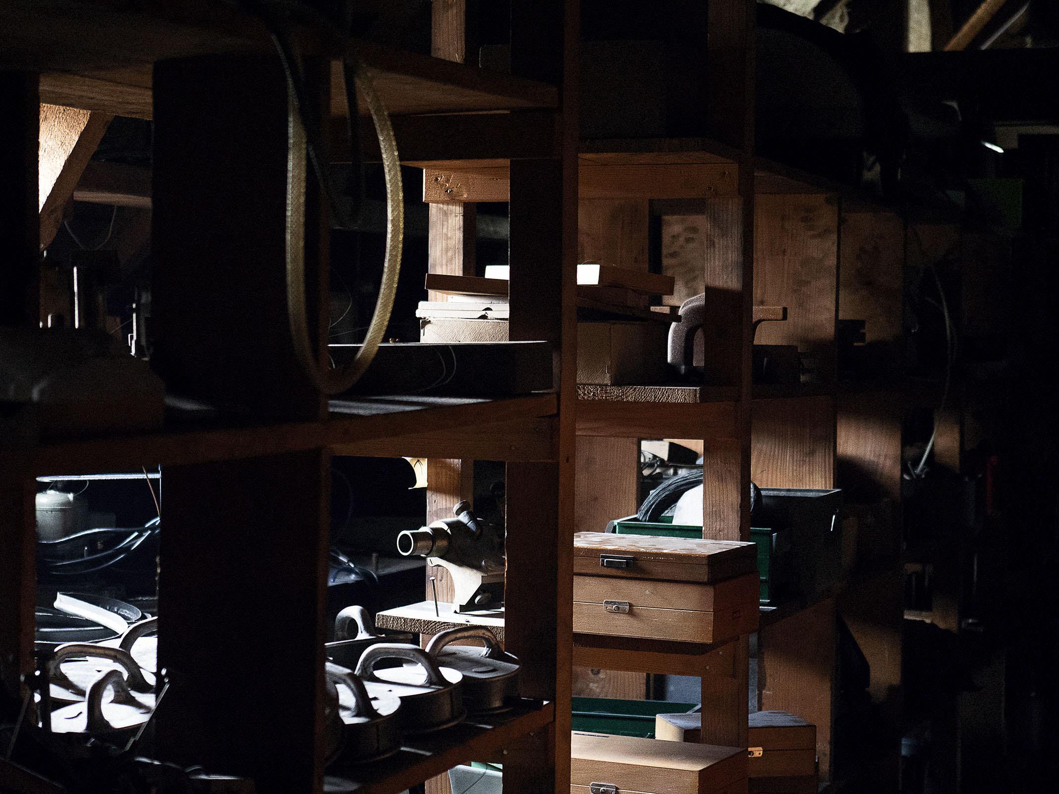 Zenith manufacture attic grenier Charles Vermot El Primero - 2