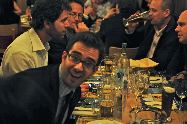 Baselworld 2011 - Schnitzel Dinner