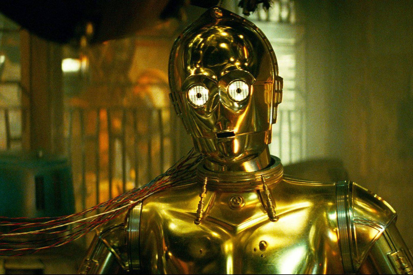 star wars may the fourth C-3PO - URWERK UR-100 GOLD EDITION