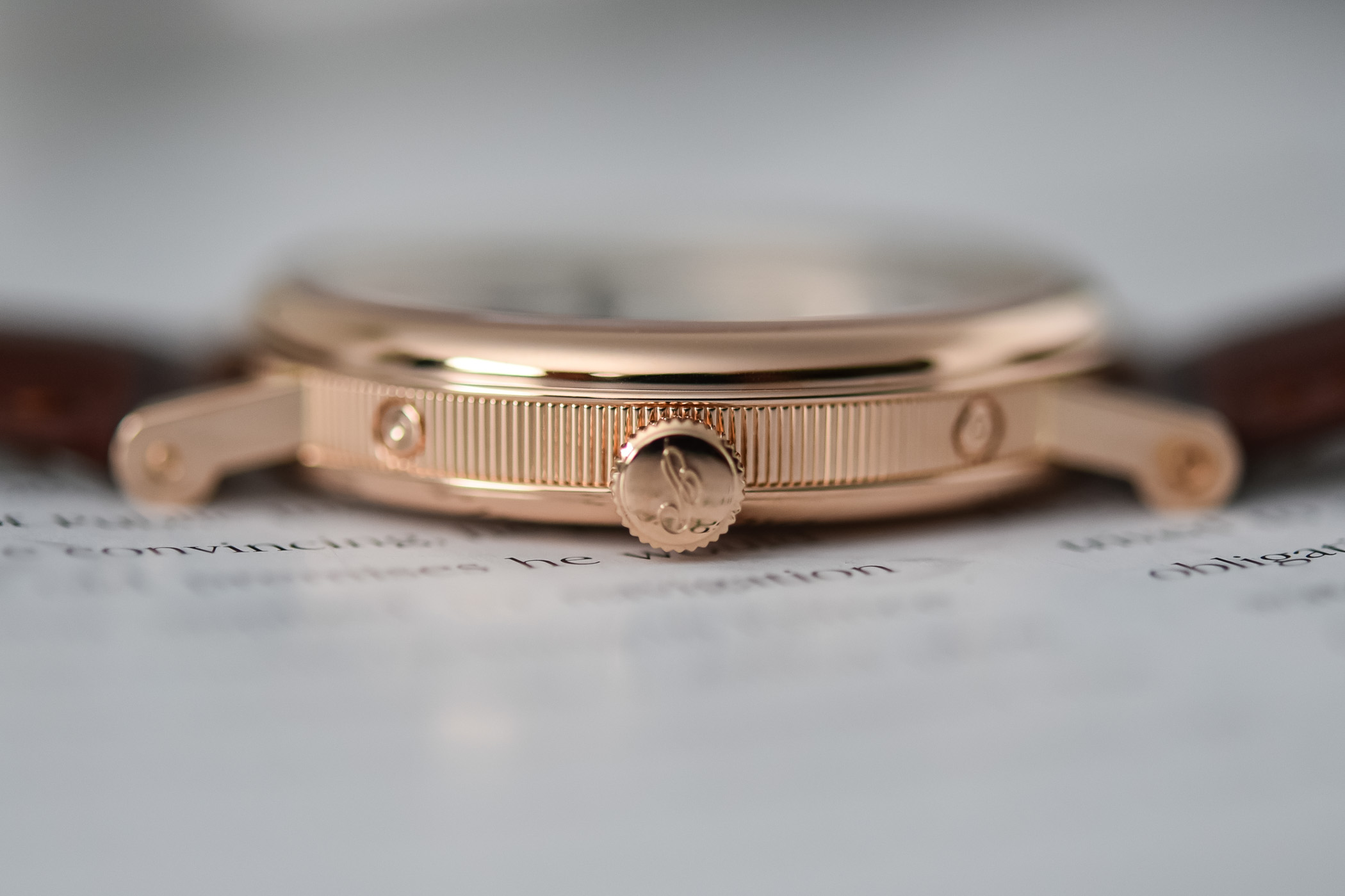 2020 Breguet Classique 7337 Moon and Calendar Chinoise pink gold silver dial