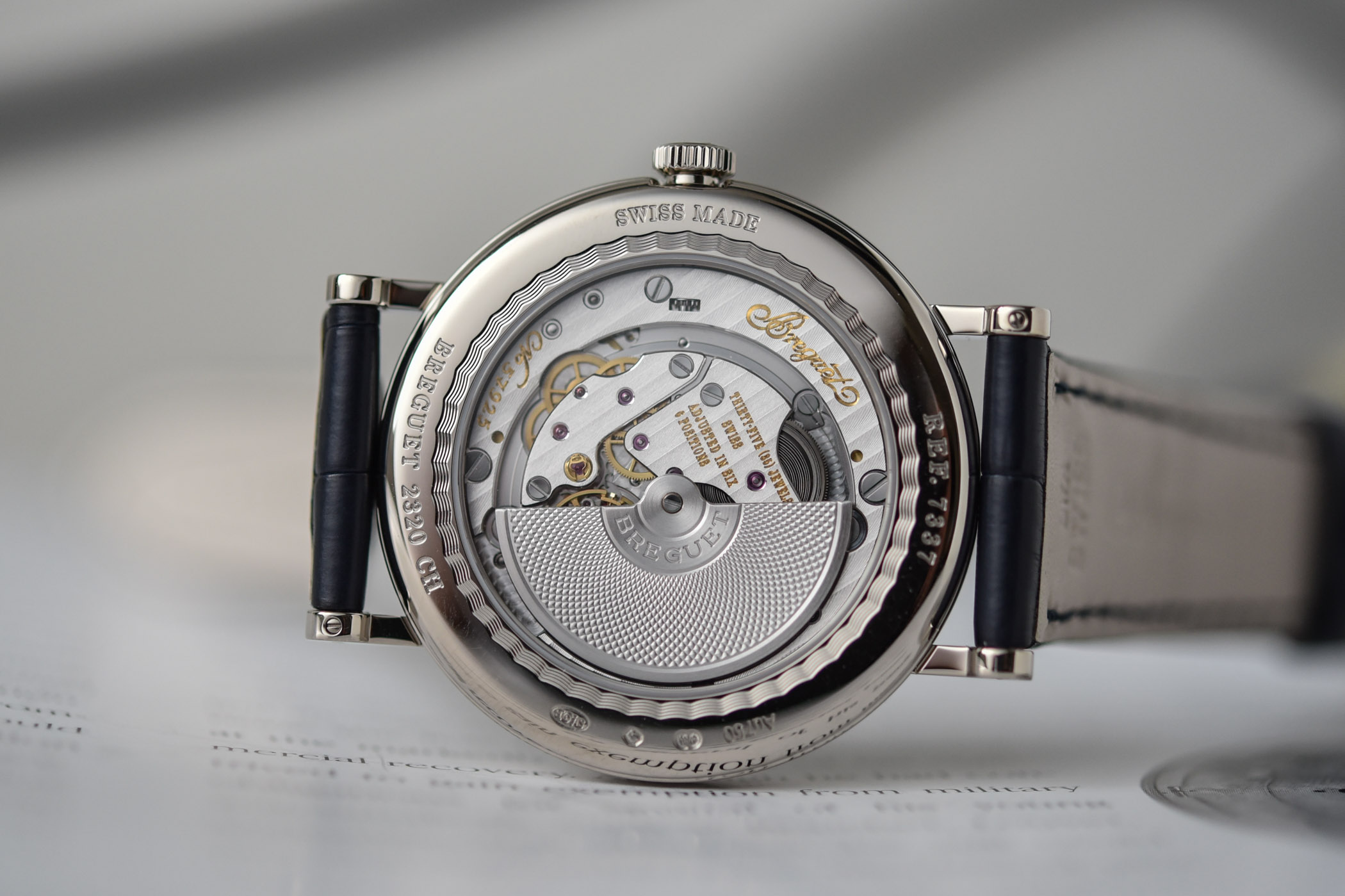 2020 Breguet Classique 7337 Moon and Calendar Chinoise