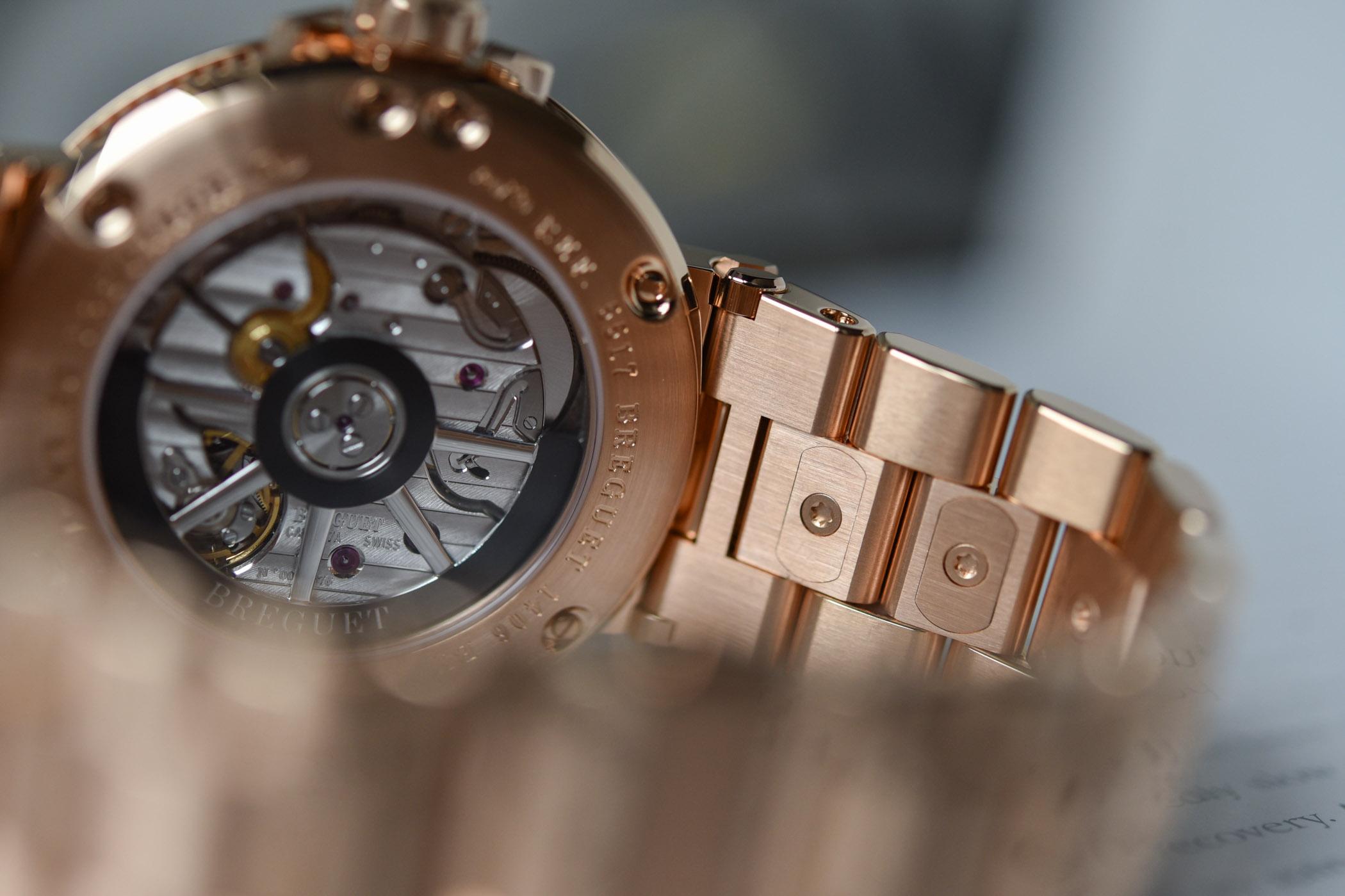2020 Breguet Marine 5517 Gold Bracelet