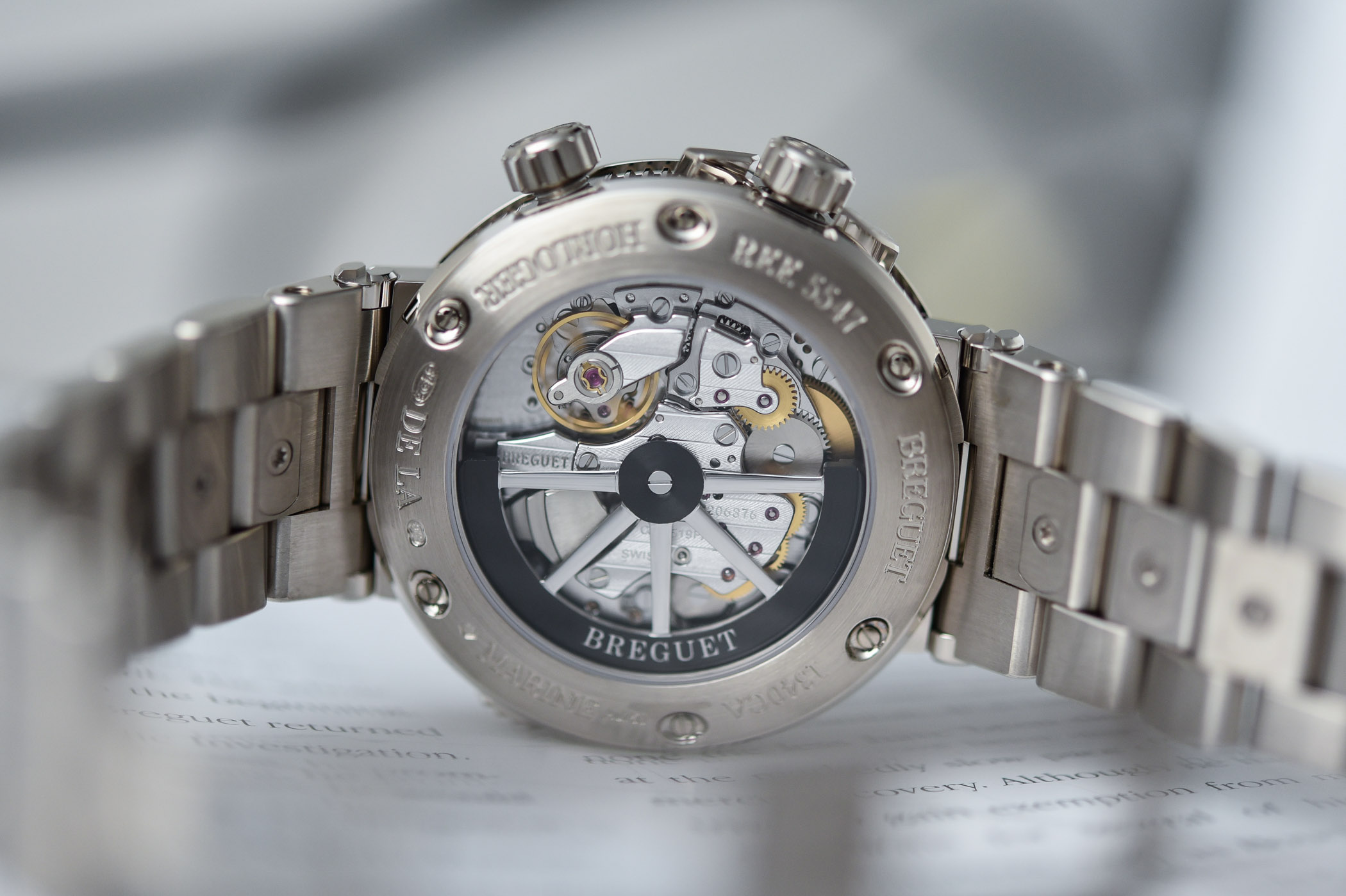 2020 Breguet Marine Alarme Musicale 5547 Gold Bracelet