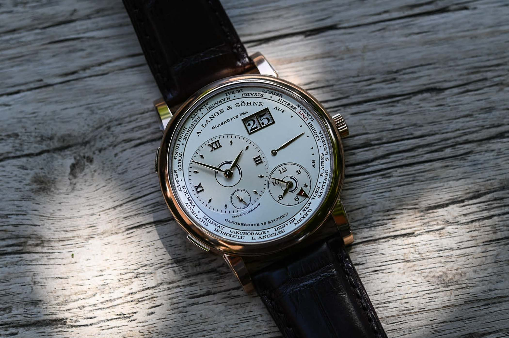 A. Lange & Söhne Lange 1 Time Zone 136.032 - 2020 Update