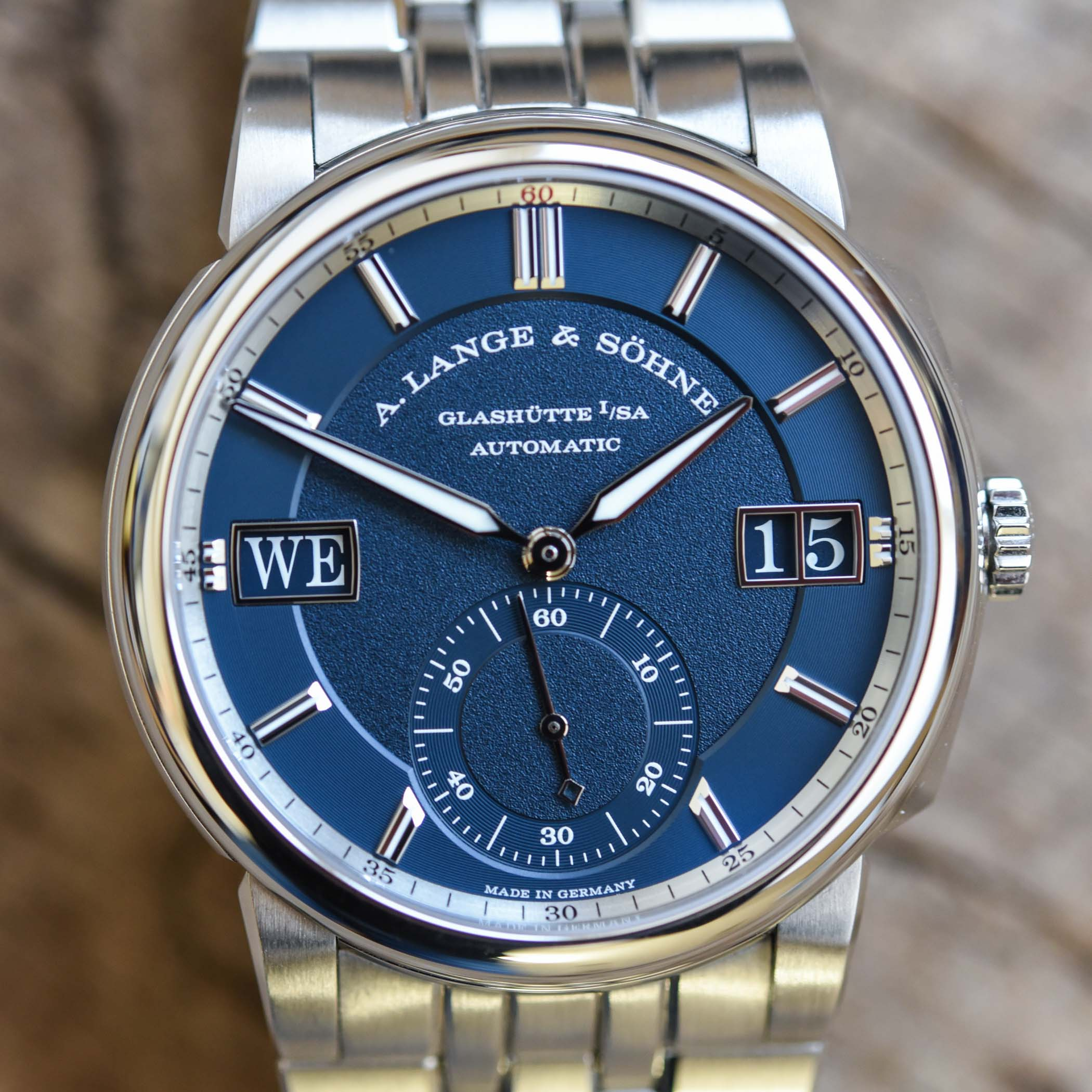 A Lange Sohne Odysseus Steel 363.179 Review - 11