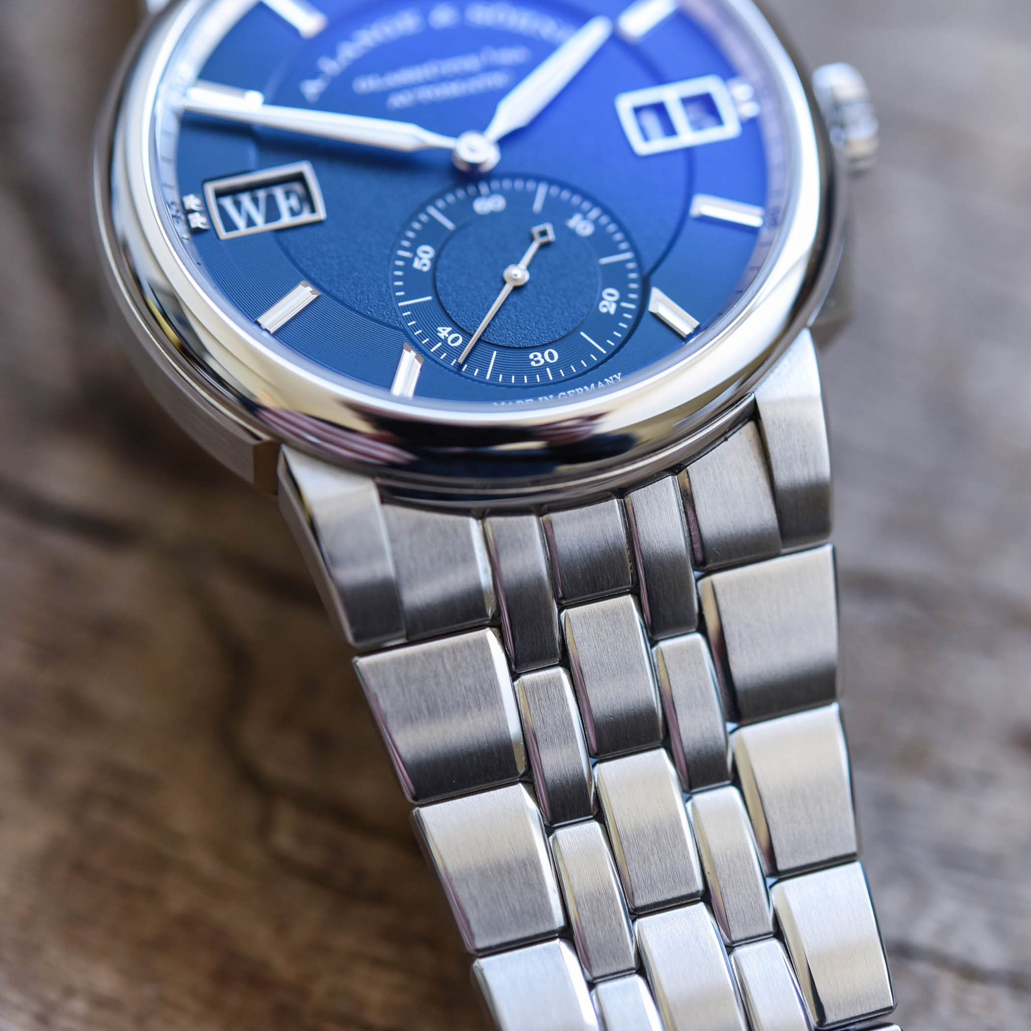 A Lange Sohne Odysseus Steel 363.179 Review - 13