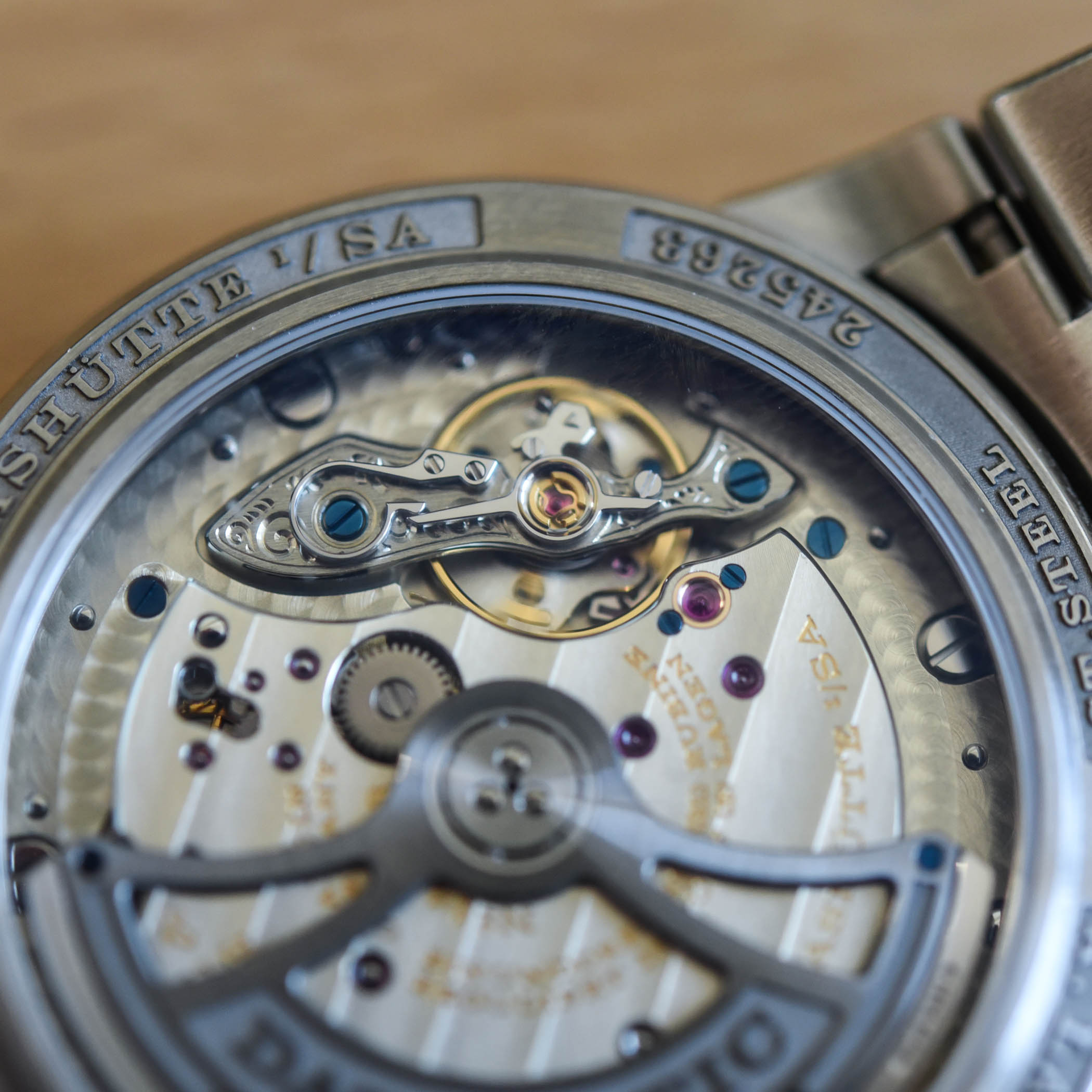A Lange Sohne Odysseus Steel 363.179 Review - 17