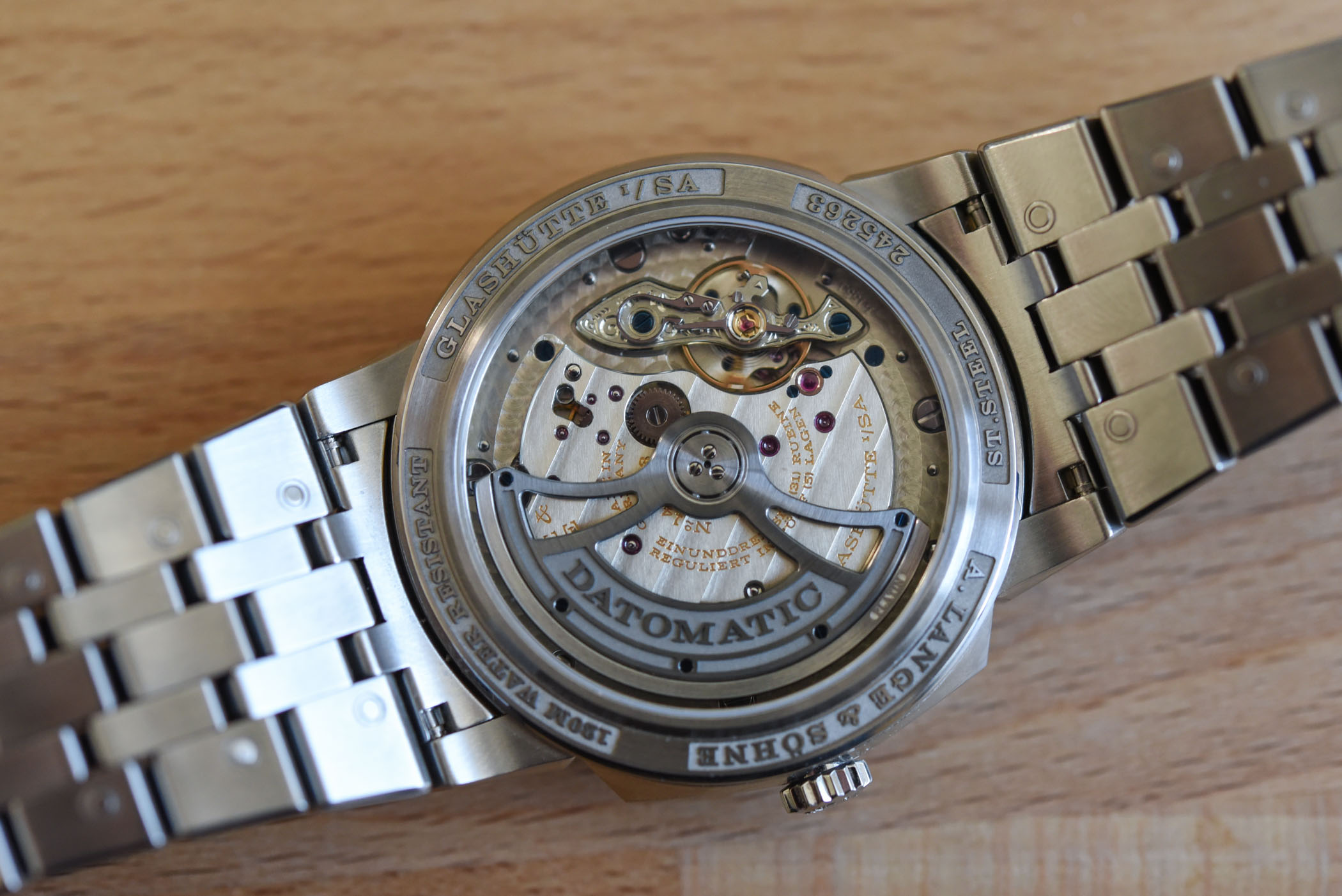 A Lange Sohne Odysseus Steel 363.179 Review - 18