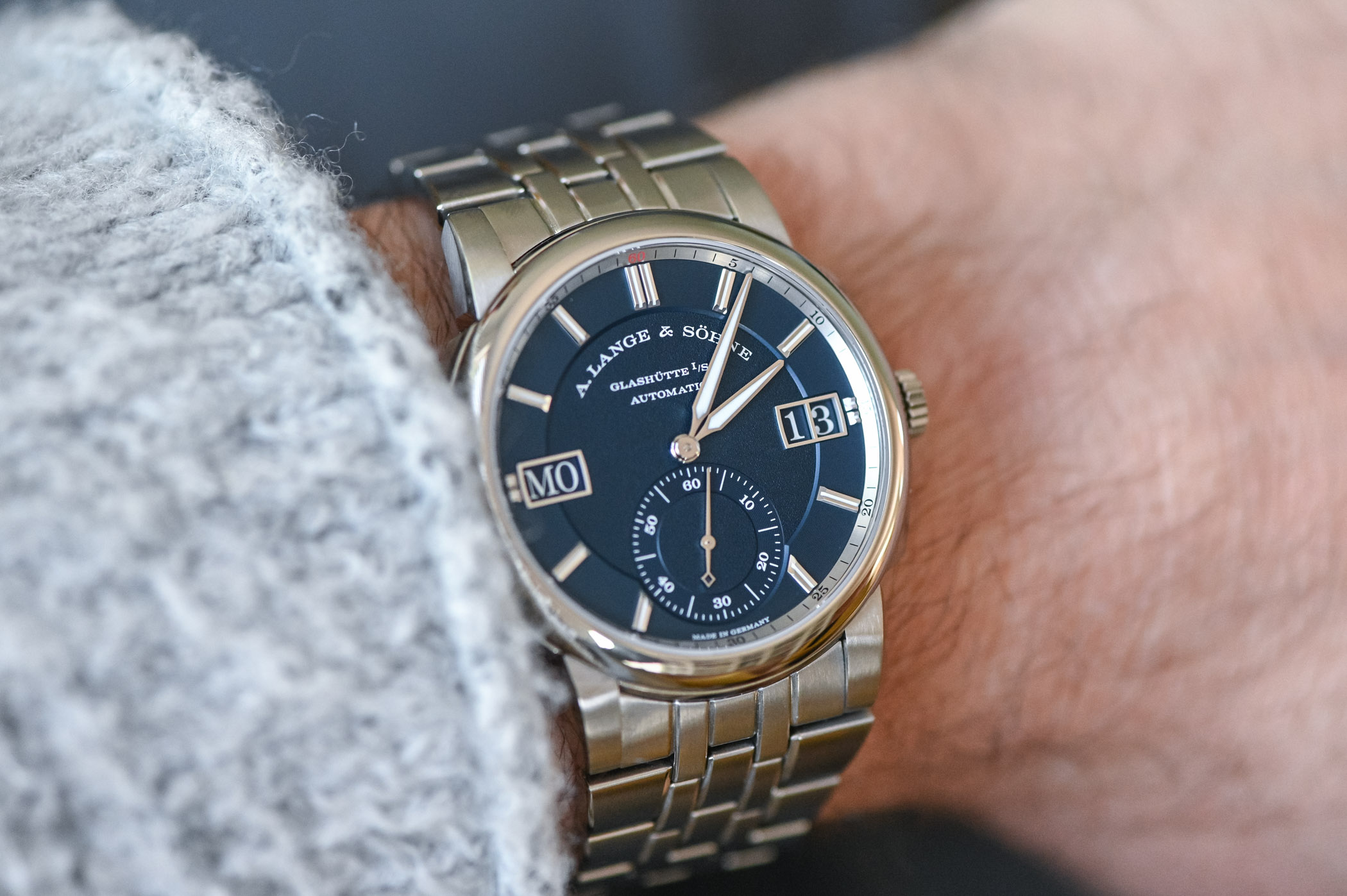A Lange Sohne Odysseus Steel 363.179 Review - 28