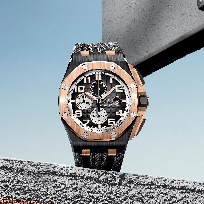 Audemars Piguet Royal Oak Offshore Selfwinding Chronograph 44mm 2020 smoked dial