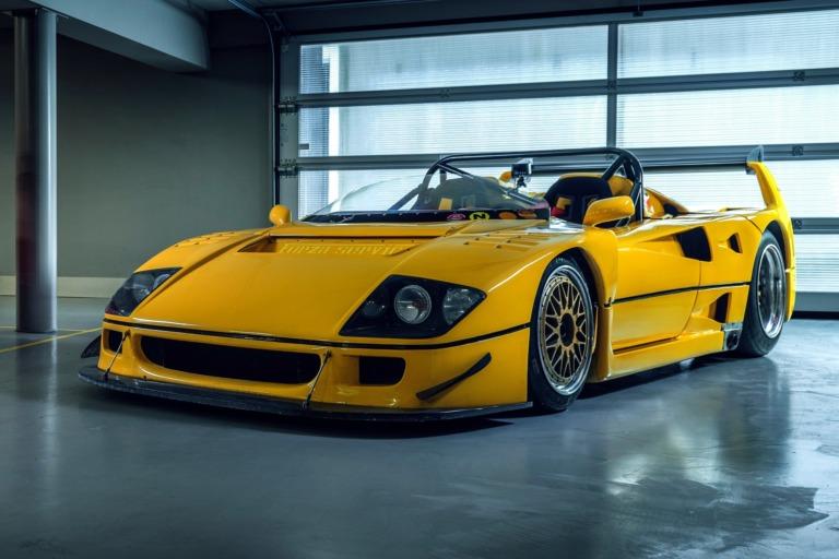 The Petrolhead Corner - The Story of Mystical Ferrari F40 LM Barchetta
