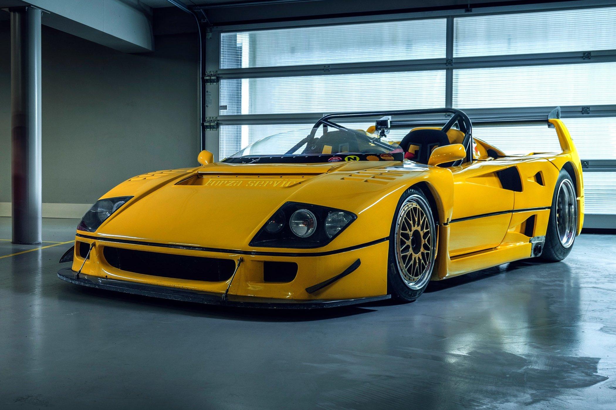 The Petrolhead Corner The Story Of Mystical Ferrari F40 Lm Barchetta