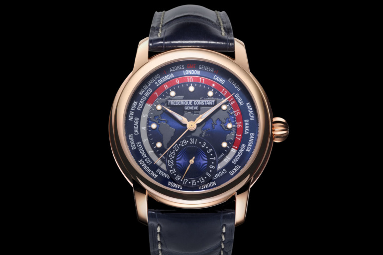 Frederique Constant Classic Worldtimer Manufacture Limited Edition 2020