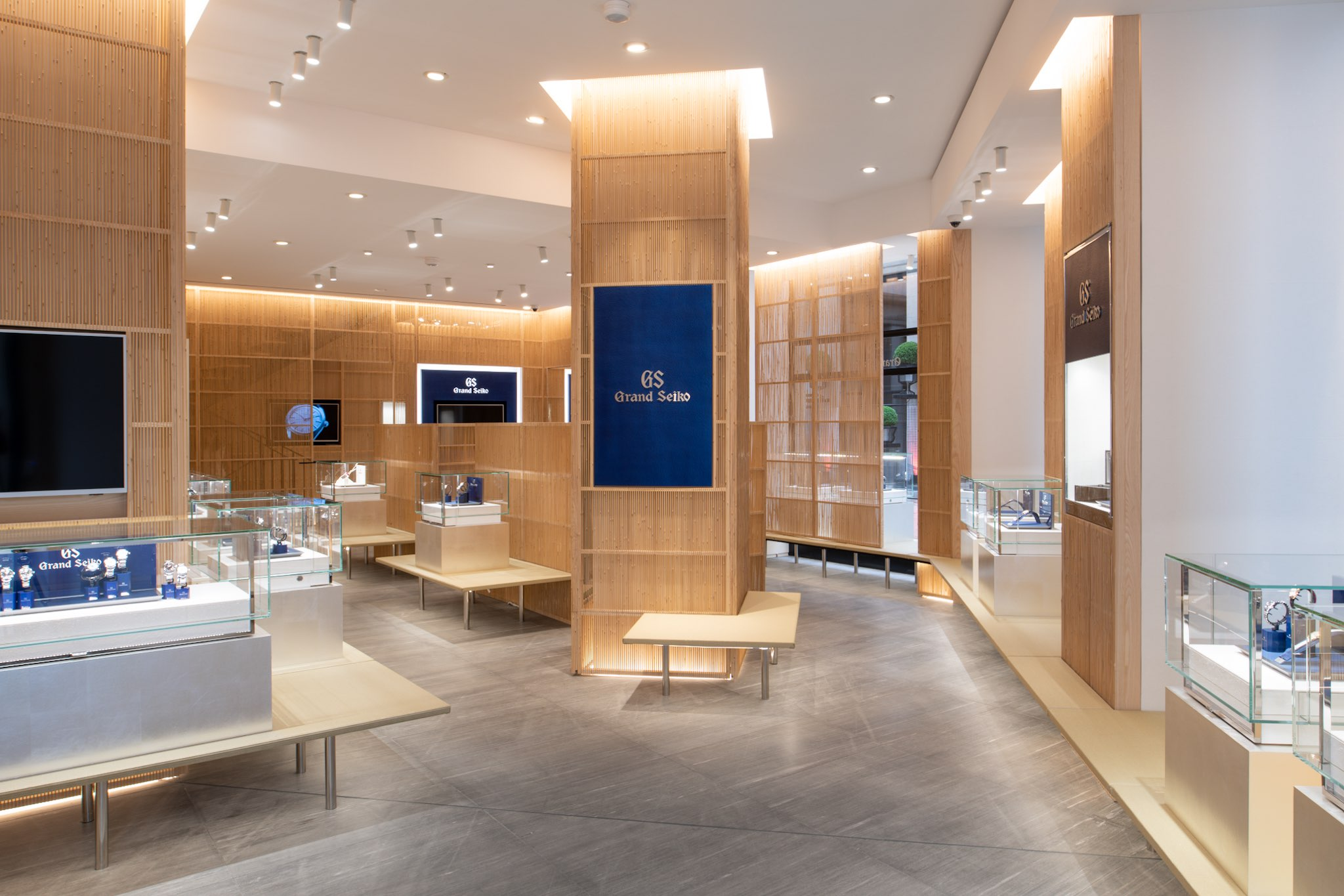 Grand Seiko Boutique Paris Place Vendome opening