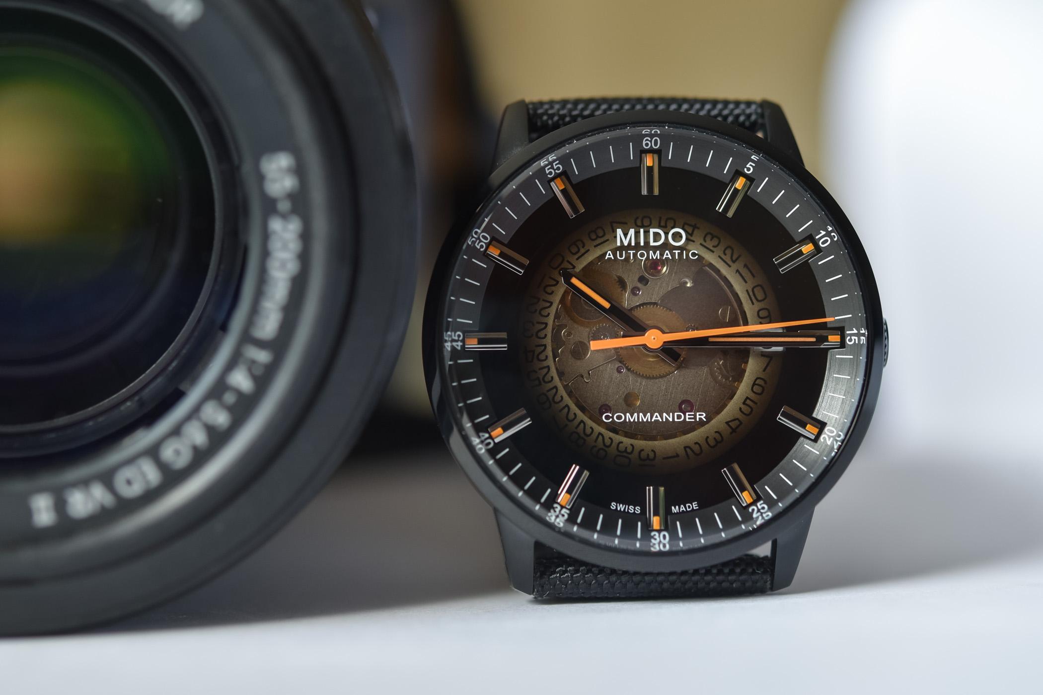 Mido Commander Gradient Calibre 80