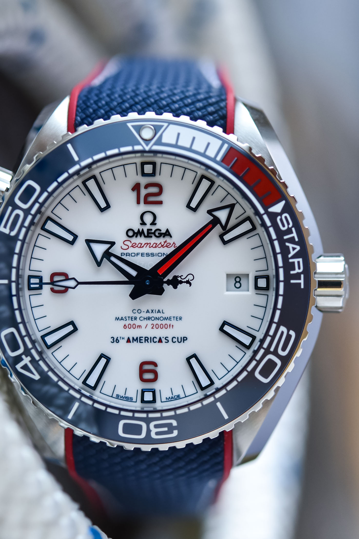 Omega Seamaster Planet Ocean 600m 36th America's Cup