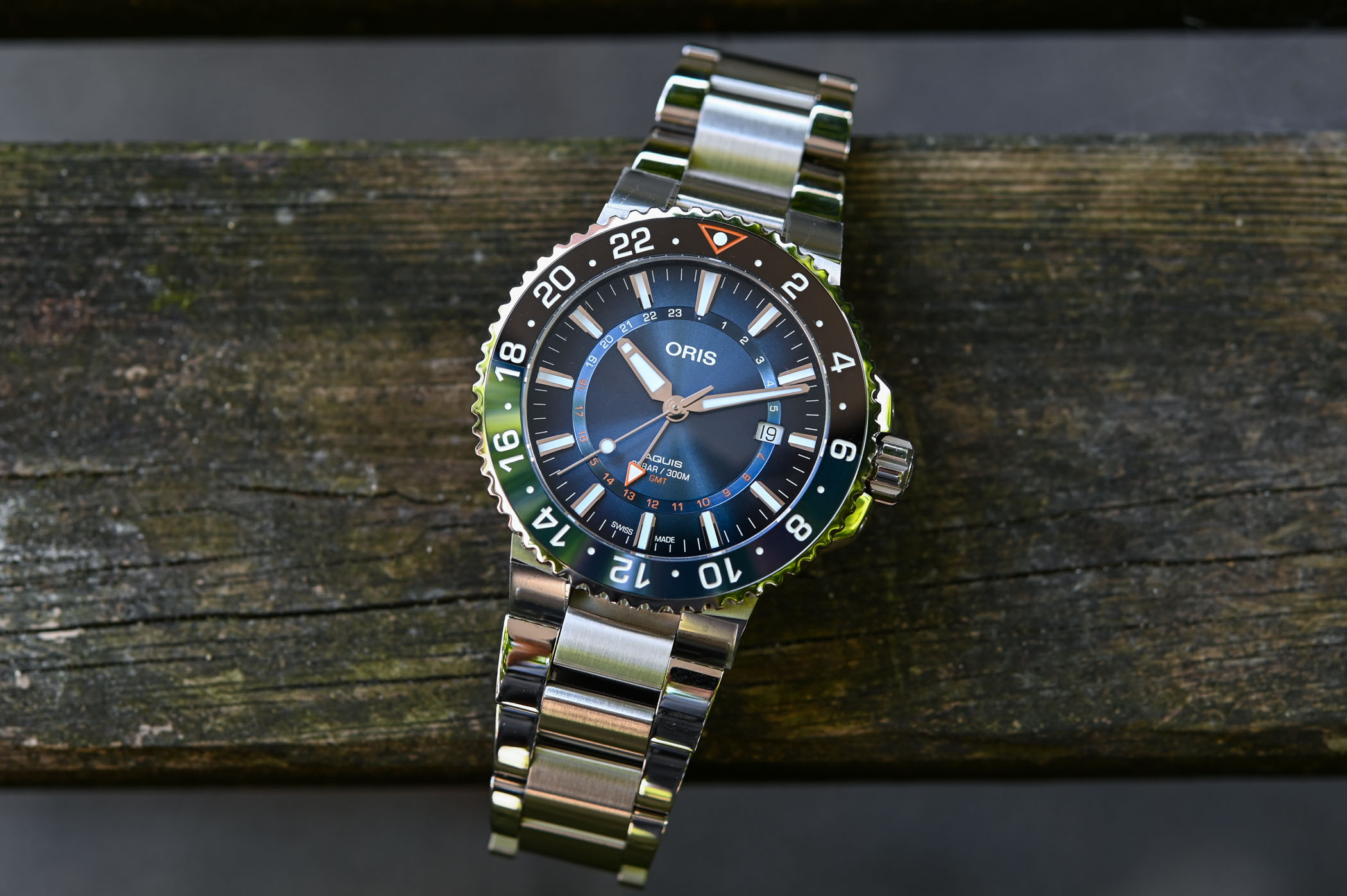 Oris Carysfort Reef Limited Edition Steel