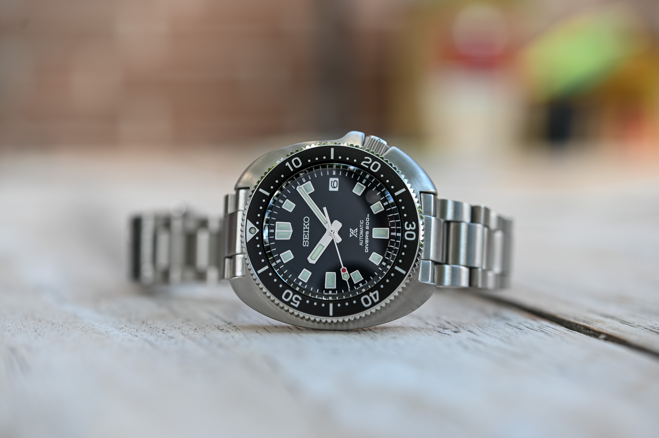 Seiko Prospex Diver Captain Willard Turtle Reissue SPB151 Black