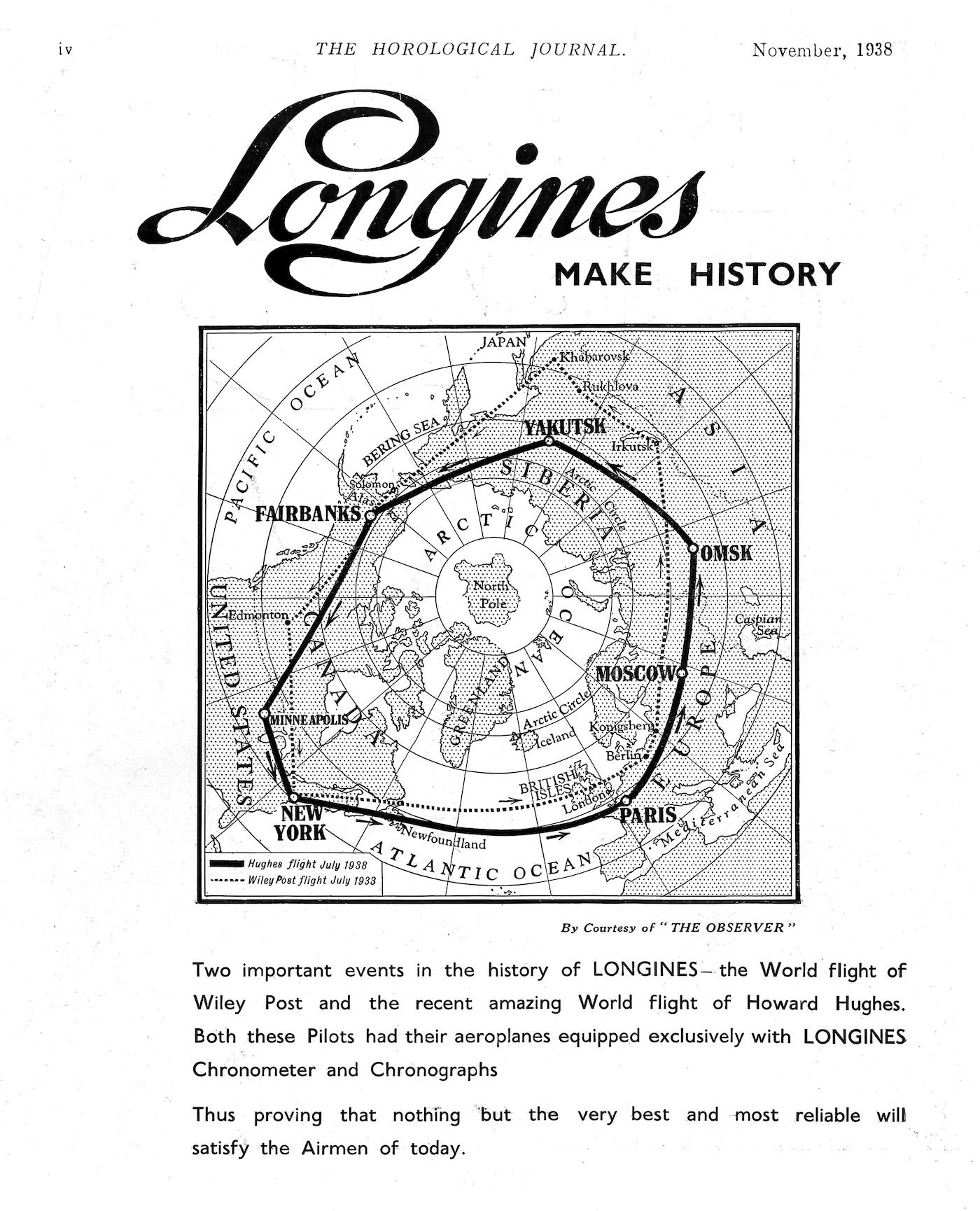 longines spirit collection 2020 - howard hughes - 1