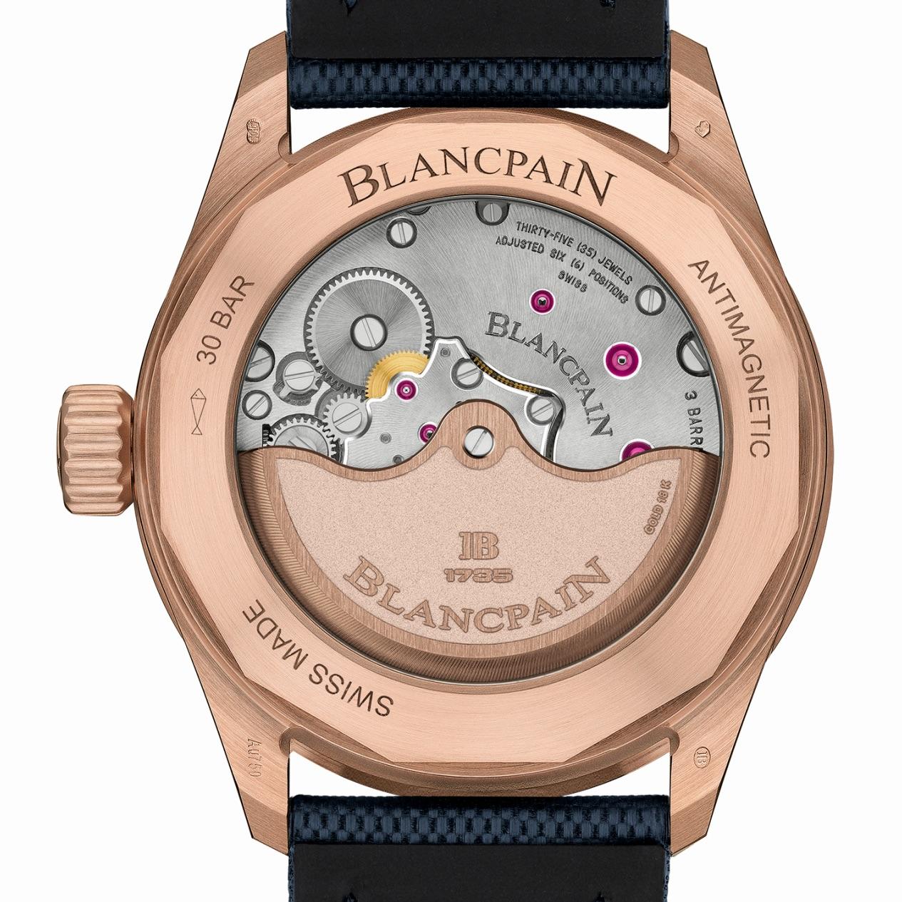 2020 Blancpain Fifty Fathoms Bathyscaphe Sedna Gold