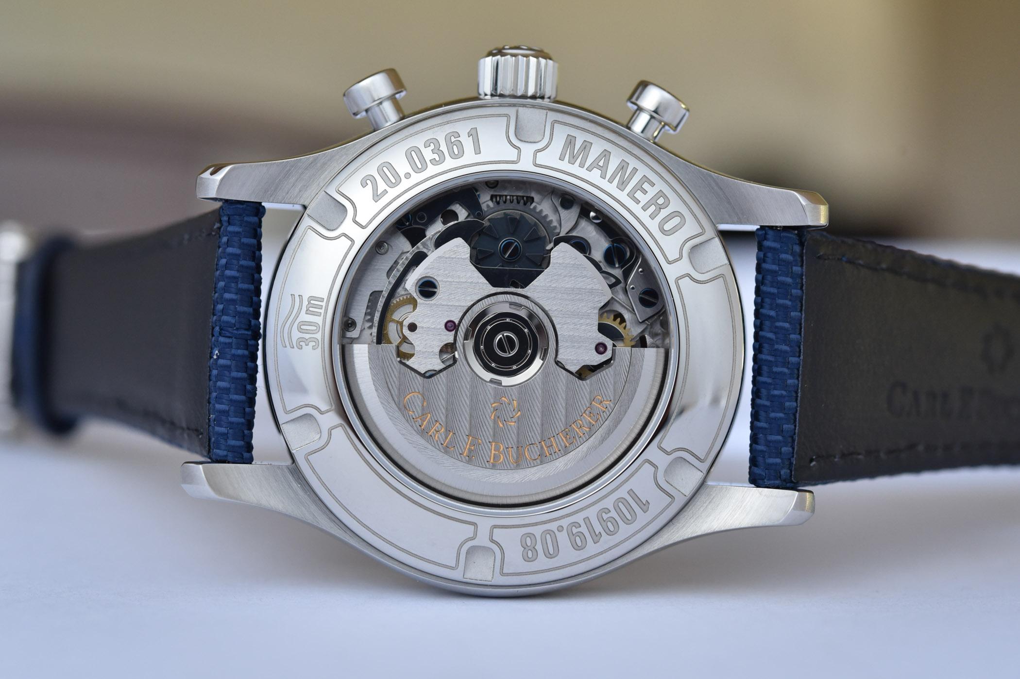 Carl F. Bucherer Manero Flyback Blue Dial