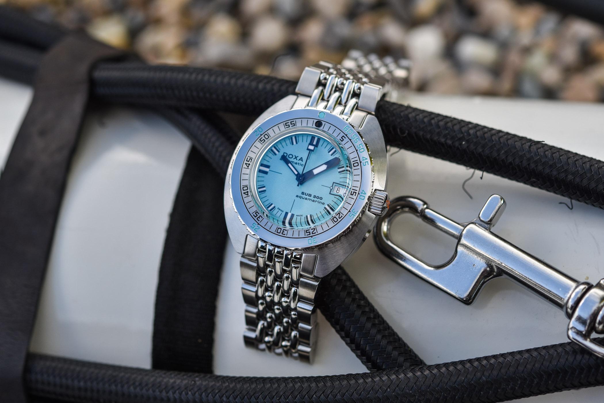 2020 Doxa SUB 300 COSC Aquamarine