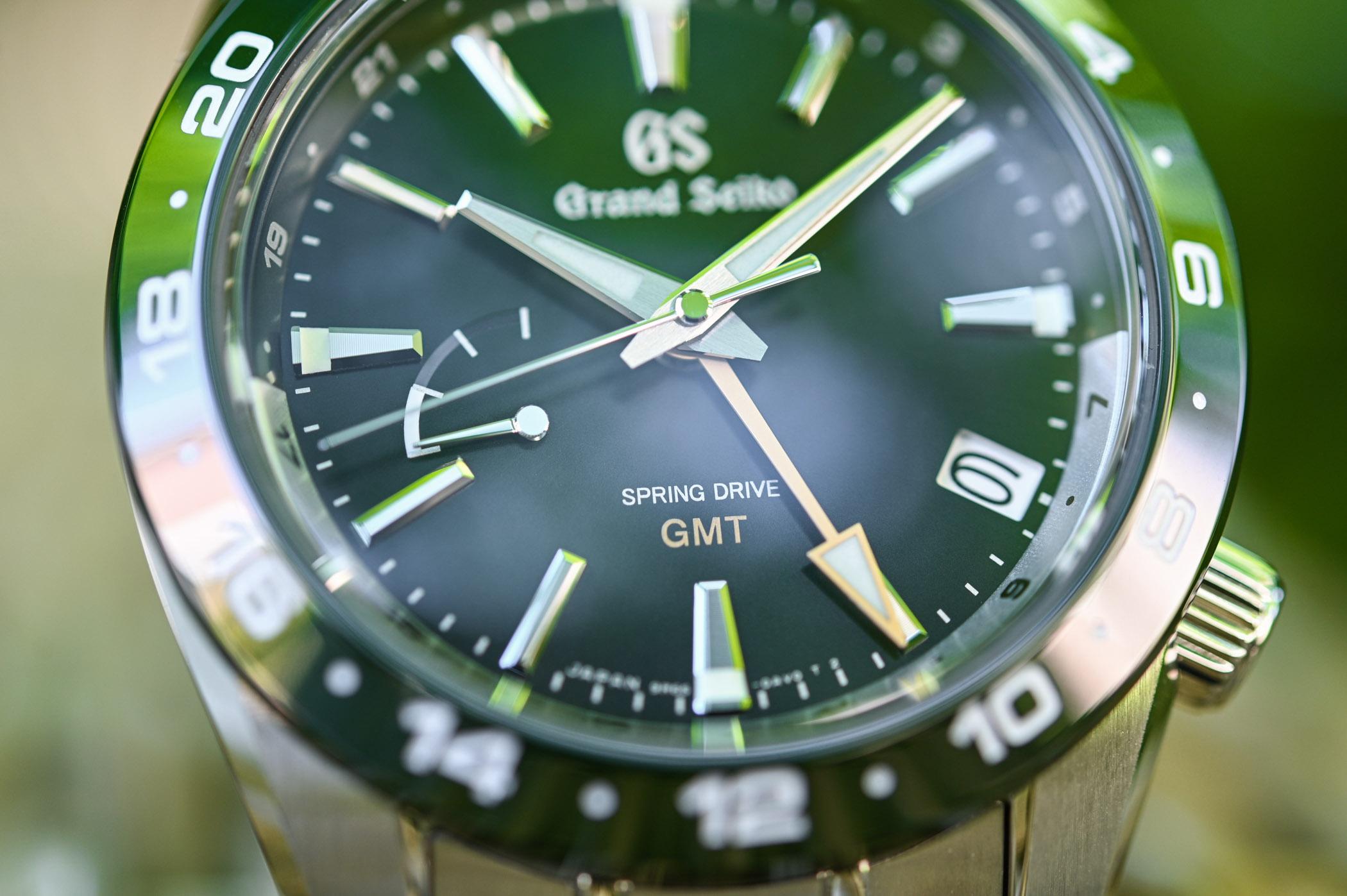 2020 Grand Seiko Sport GMT Spring Drive Green SBGE257