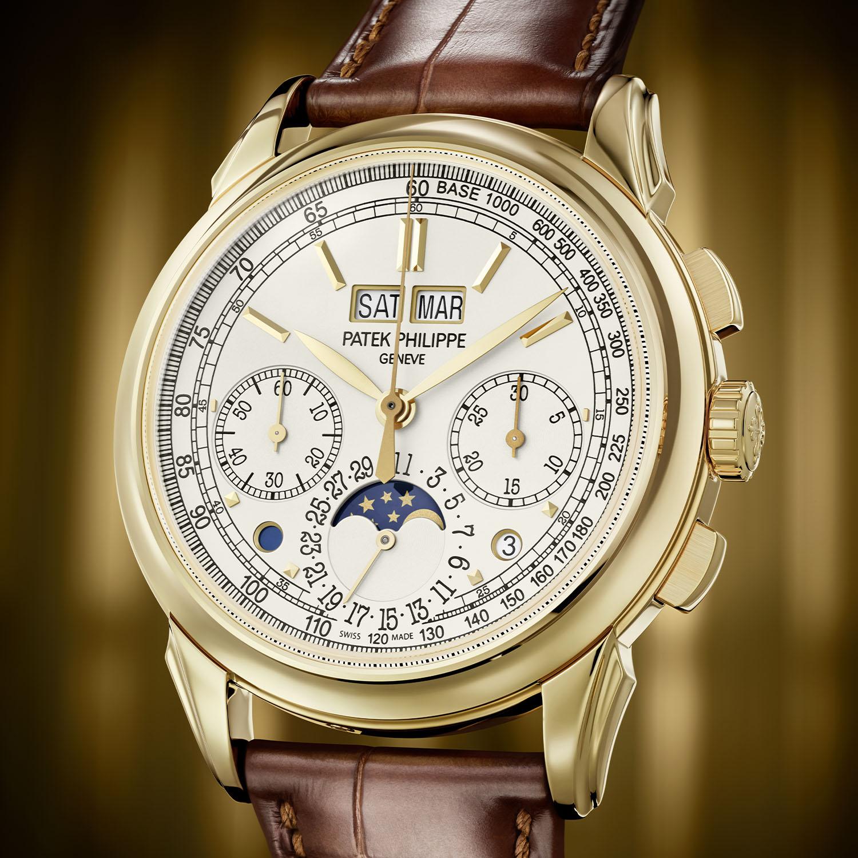 Patek Philippe 5270J-001 Perpetual Calendar Chronograph Yellow Gold
