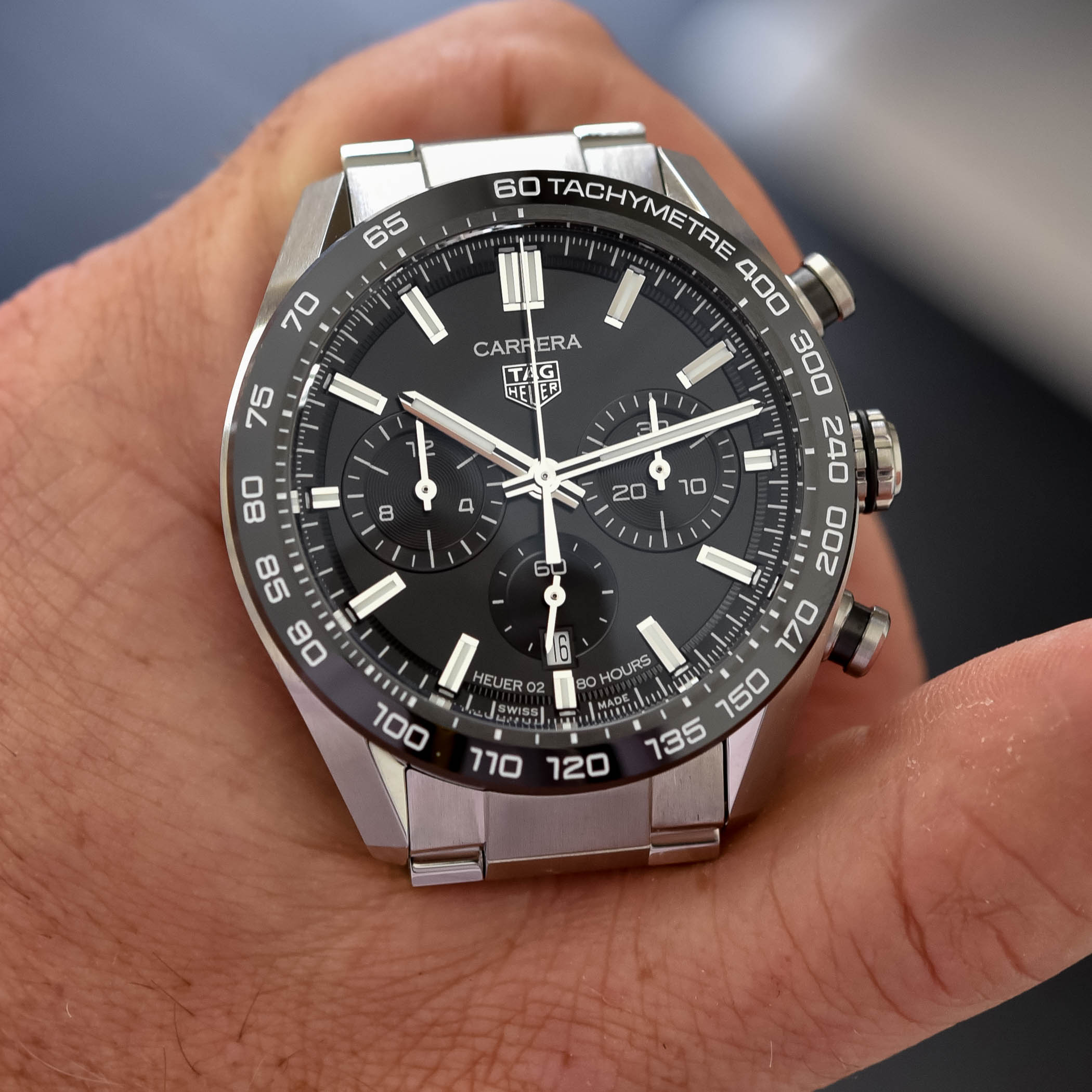 2020 TAG Heuer Carrera Sport Chronograph 44mm Collection - 7