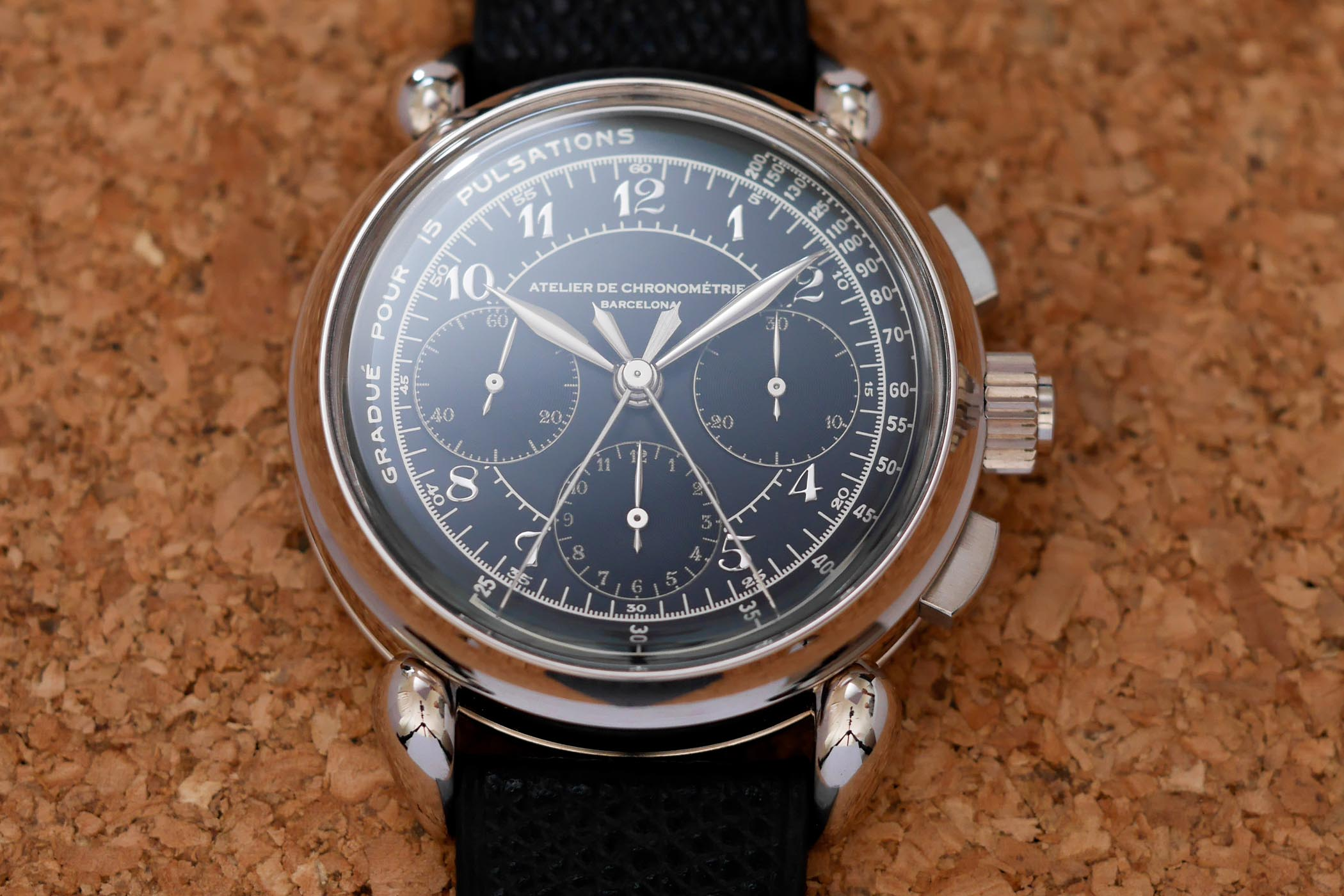 Atelier de Chronométrie AdC8 Split Seconds Chronograph