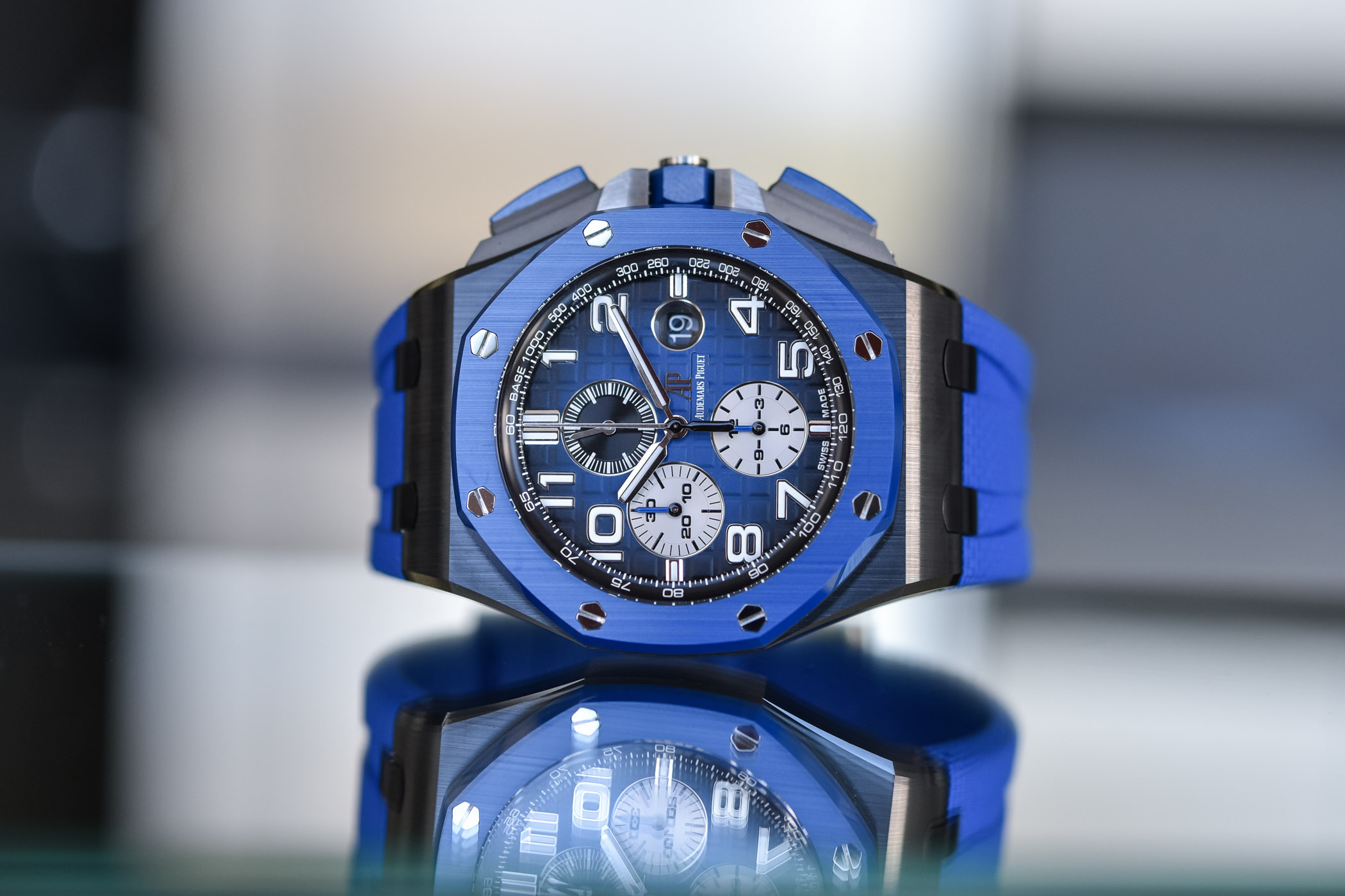 Audemars Piguet Royal Oak Offshore Selfwinding Chronograph 44mm 2020 Smoked Dial - 26405CE.OO.A030CA.01