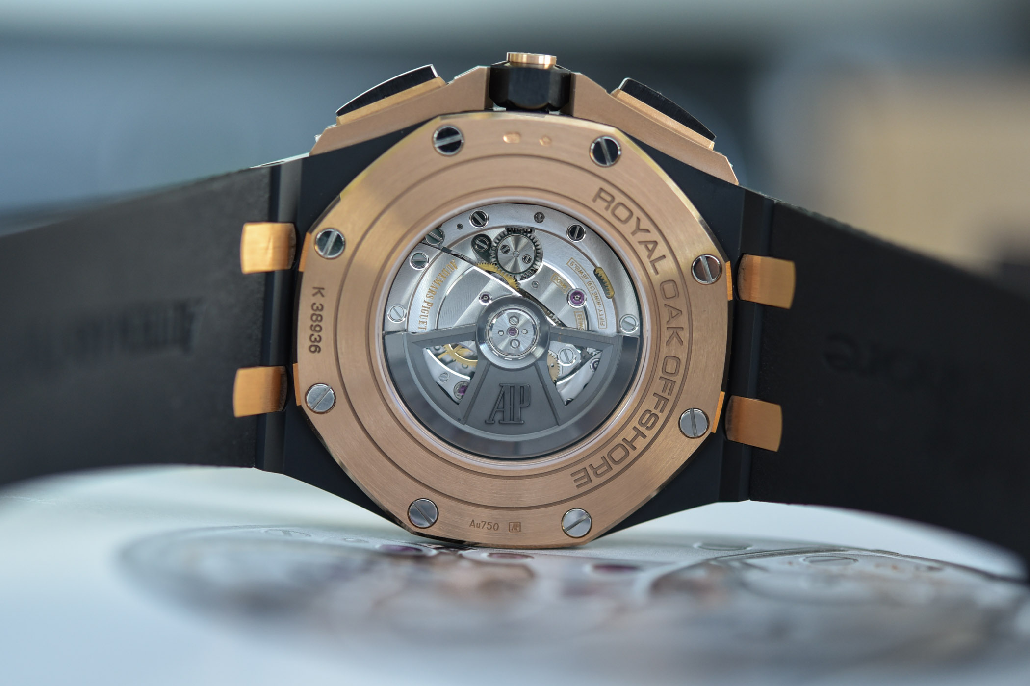 Audemars Piguet Royal Oak Offshore Selfwinding Chronograph 44mm 2020 Smoked Dial - 26405NR.OO.A002CA.01