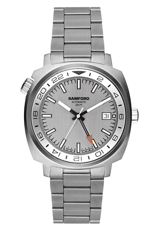 Bamford London GMT Mirage Silver