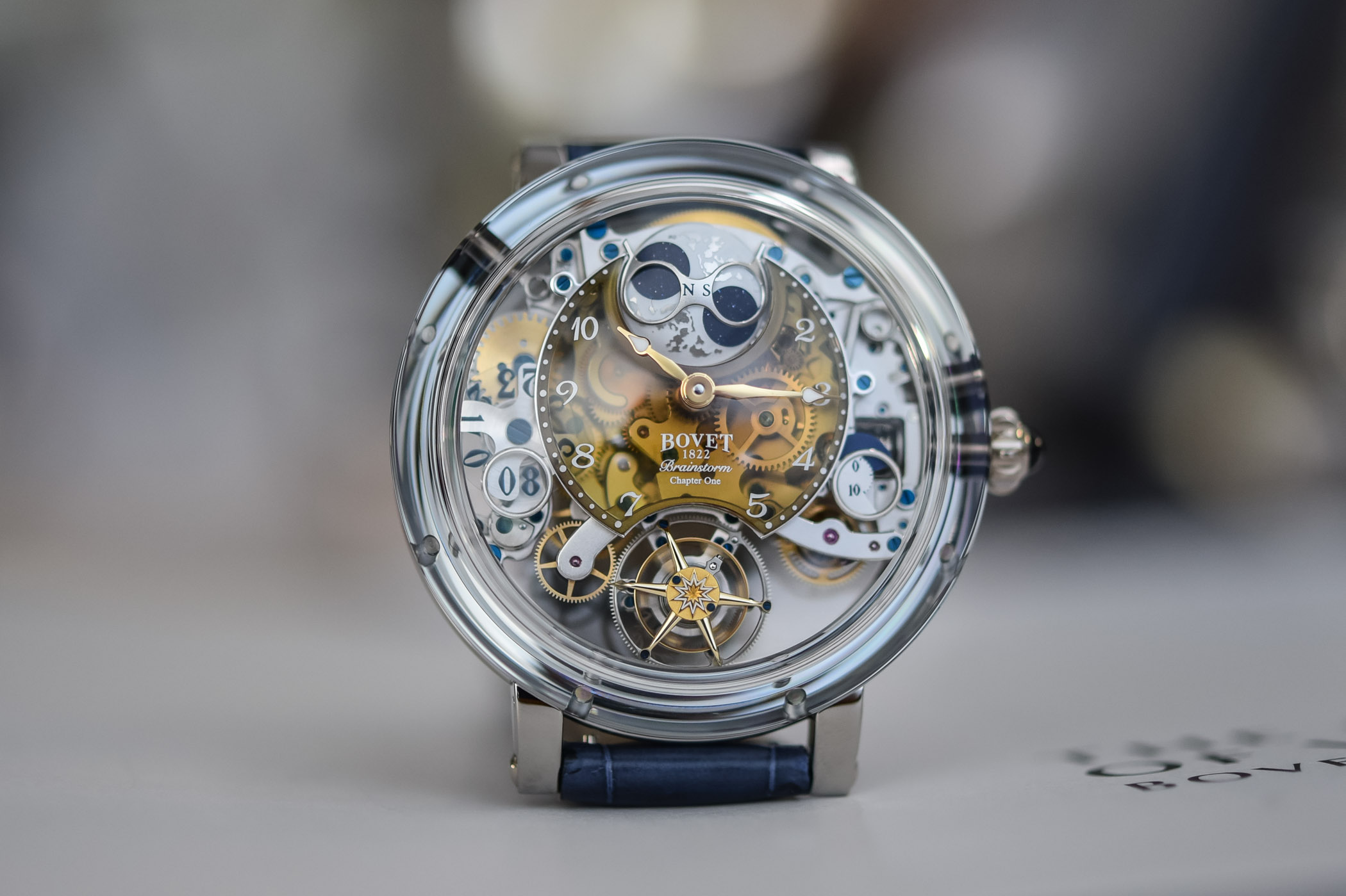 Bovet Recital 26 Brainstorm Chapter One Champagne Quartz Dial