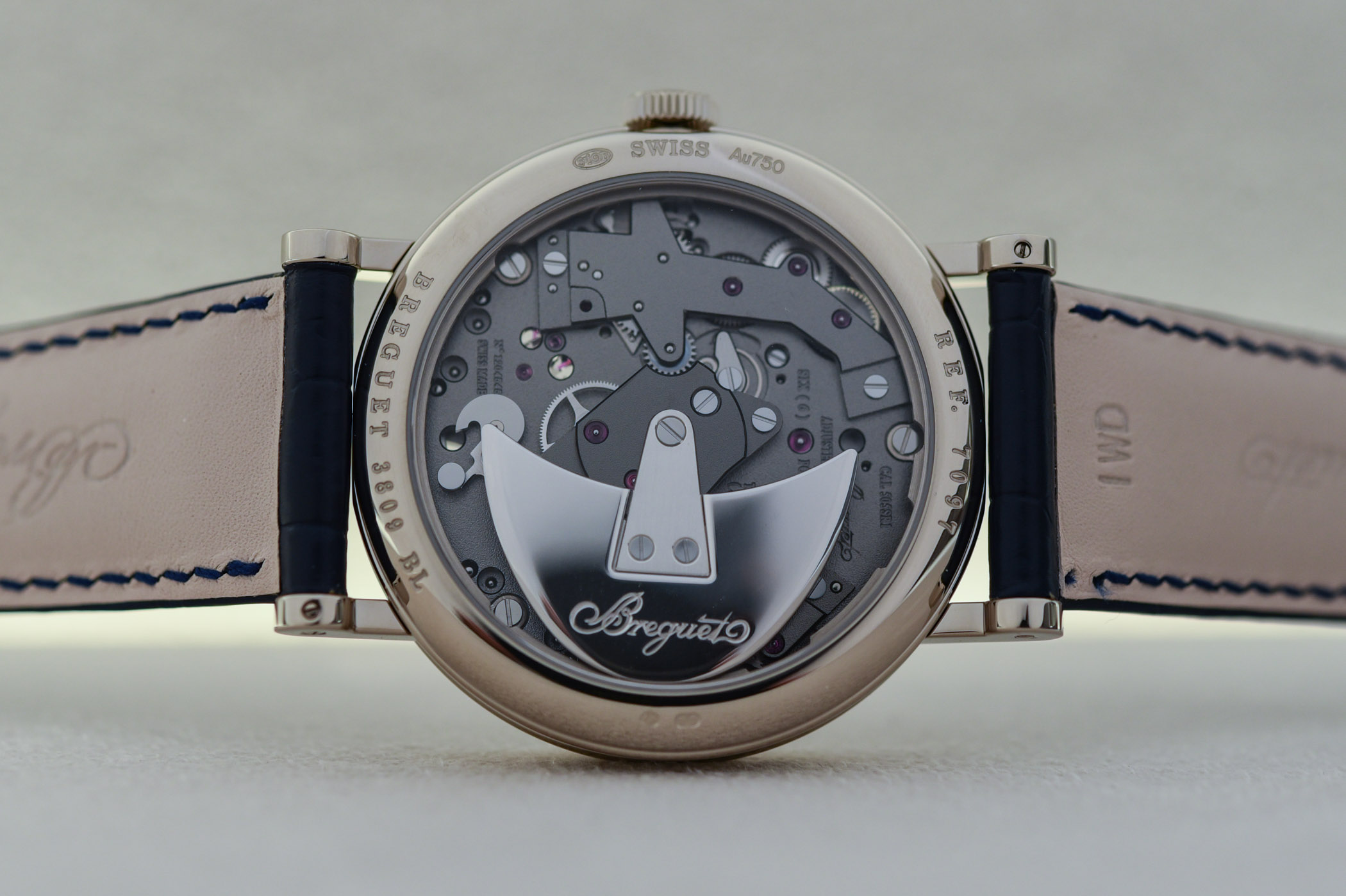Breguet Tradition Seconde Retrograde 7097 Blue Boutique Edition