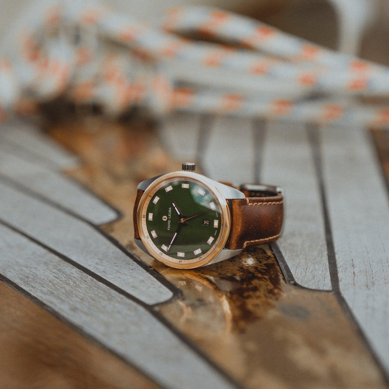 Favre Leuba Sky Chief Date 43mm Green - 1