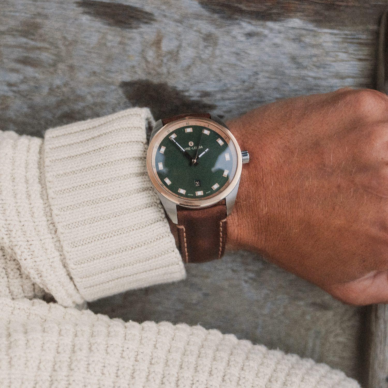 Favre Leuba Sky Chief Date 43mm Green - 2
