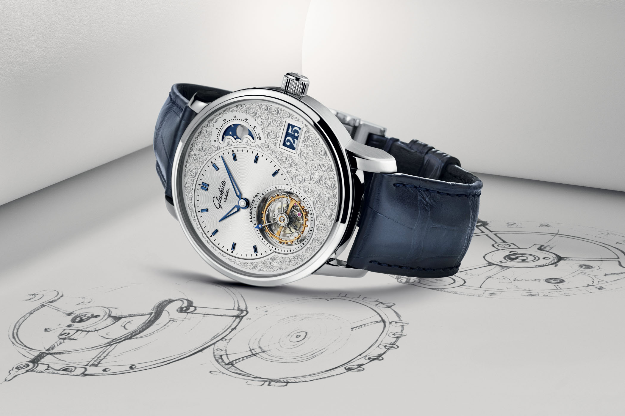 Glashutte Original PanoLunarTourbillon Limited Edition Engraved 2020